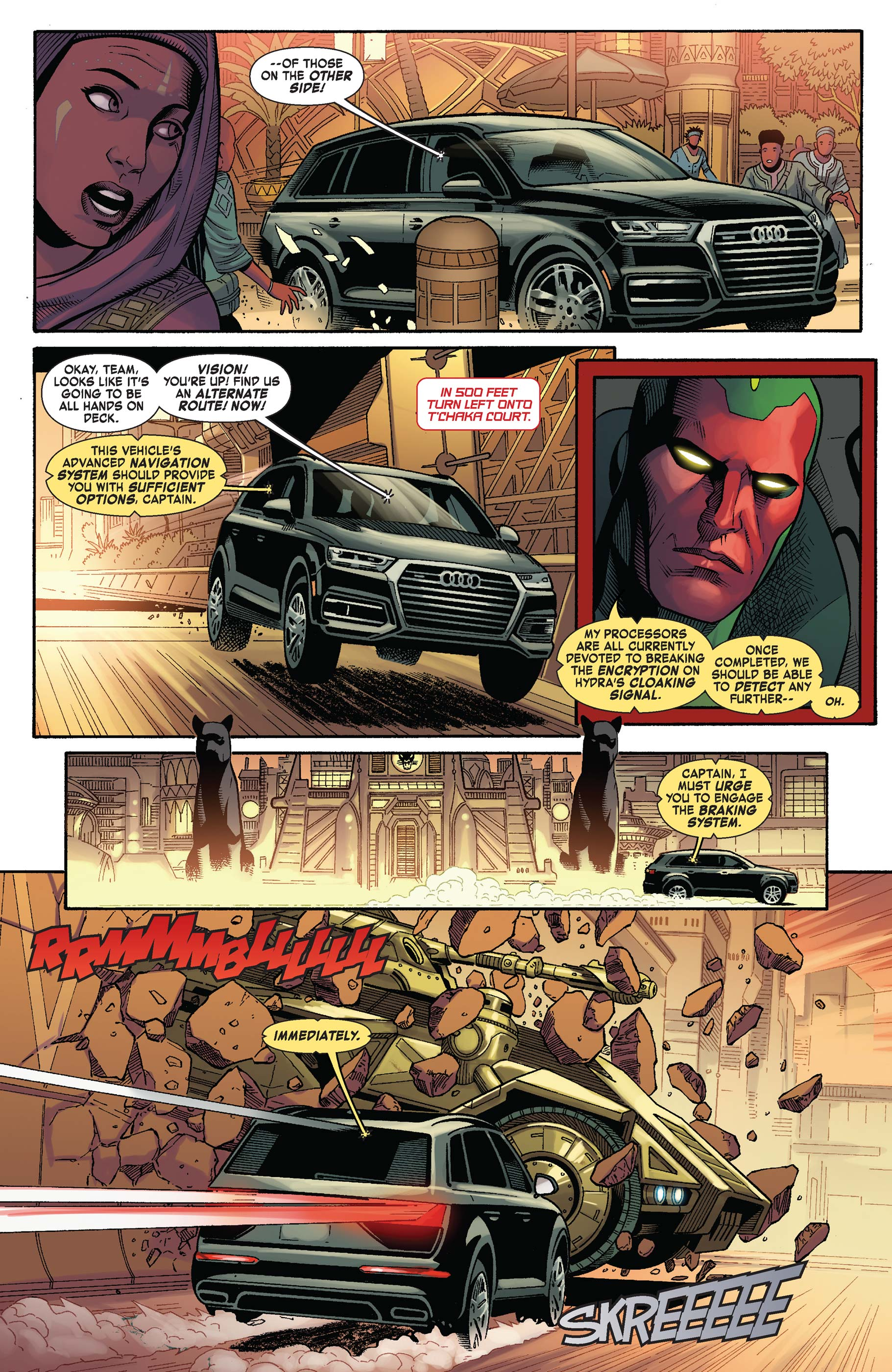 Read online Avengers: King of the Road comic -  Issue # Full - 5