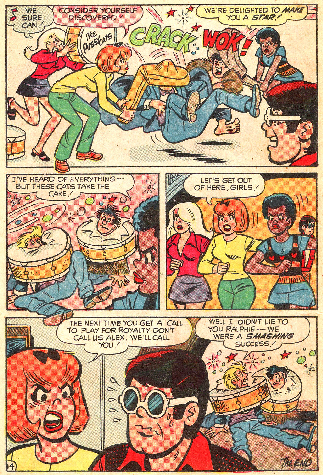 Read online She's Josie comic -  Issue #64 - 18