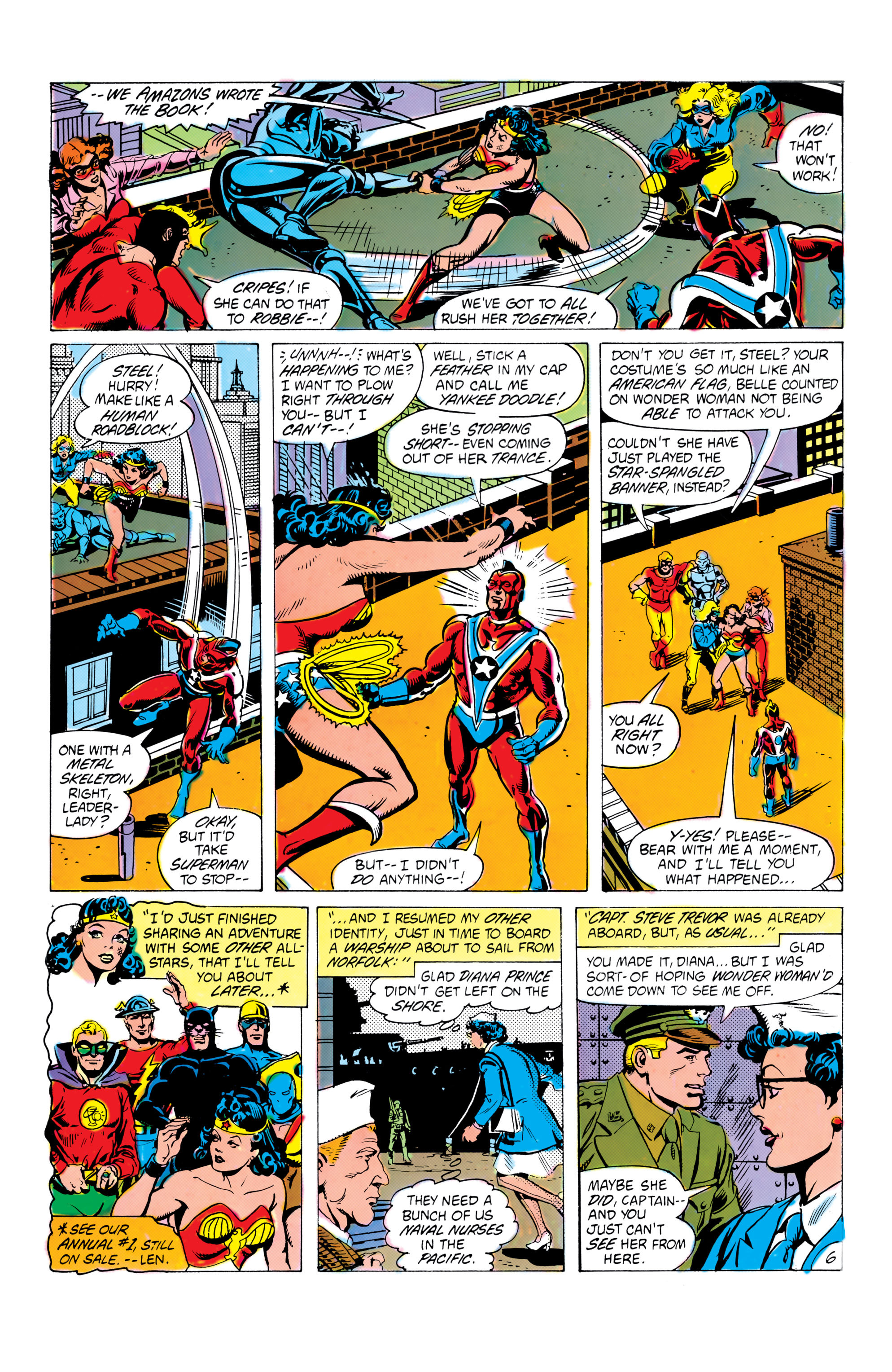 Read online All-Star Squadron comic -  Issue #16 - 7