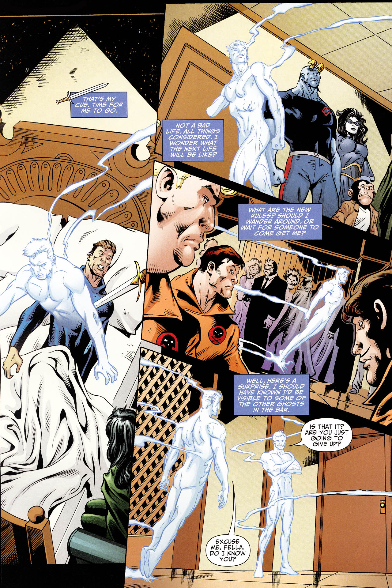 Read online Shadowpact comic -  Issue #12 - 15