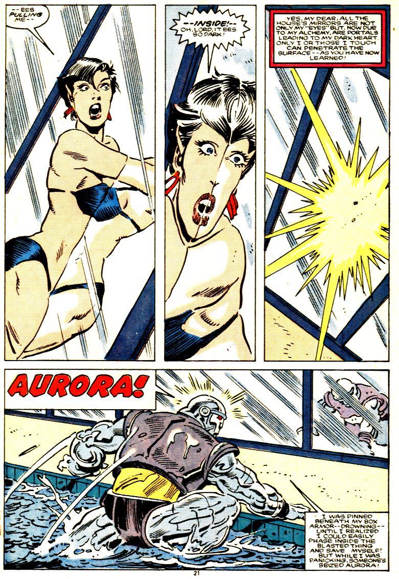 Read online Alpha Flight (1983) comic -  Issue # _Annual 1 - 22