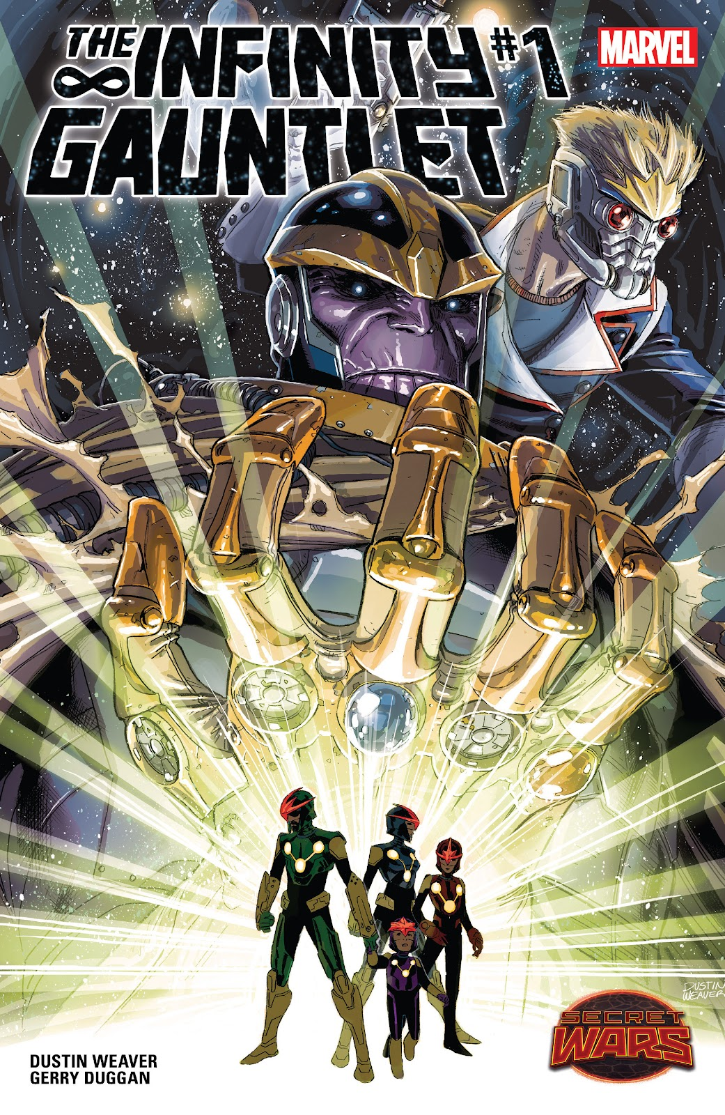 Infinity Gauntlet (2015) 1 Page 1