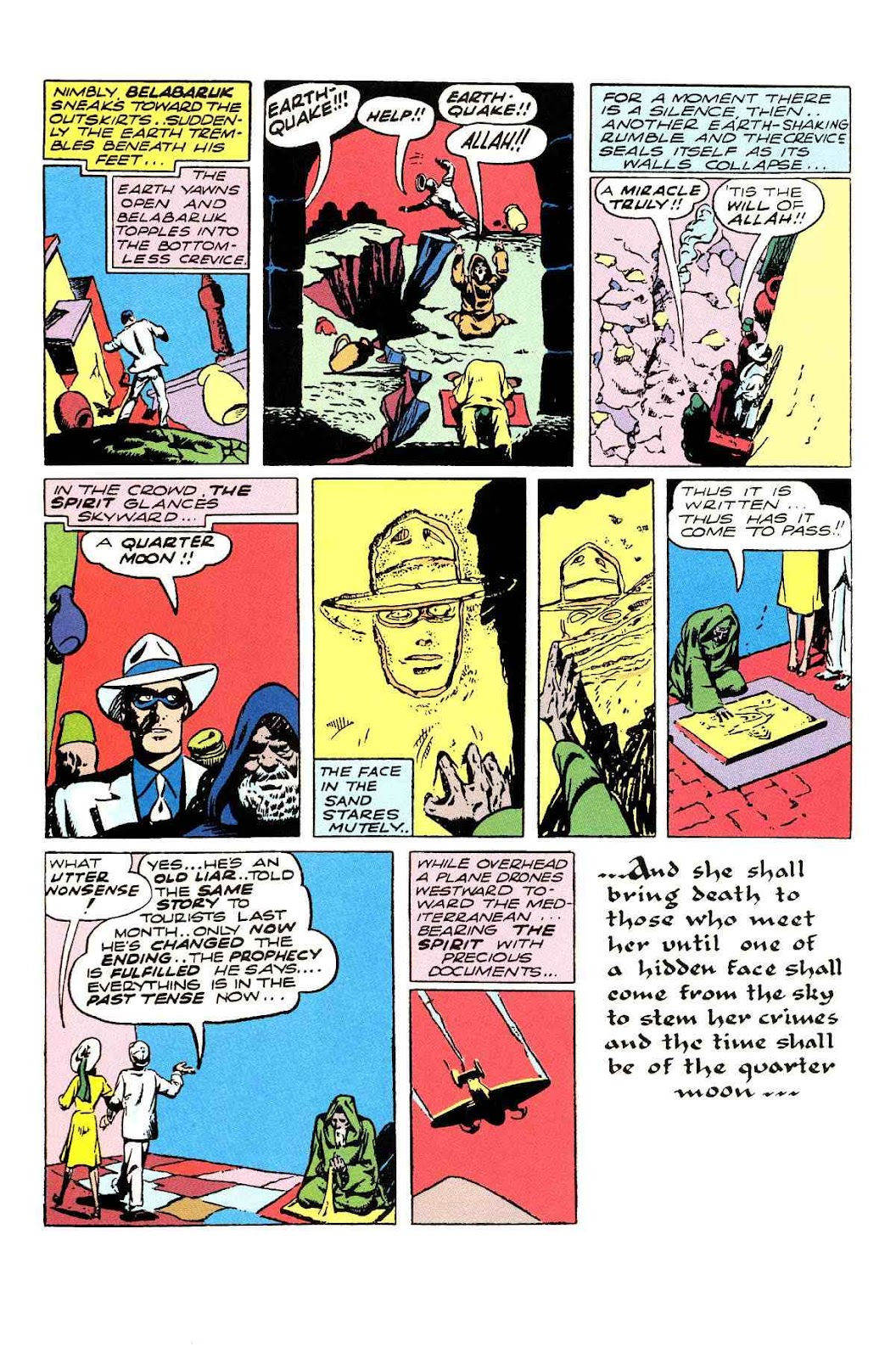 Read online Will Eisner's The Spirit Archives comic -  Issue # TPB 3 (Part 1) - 25