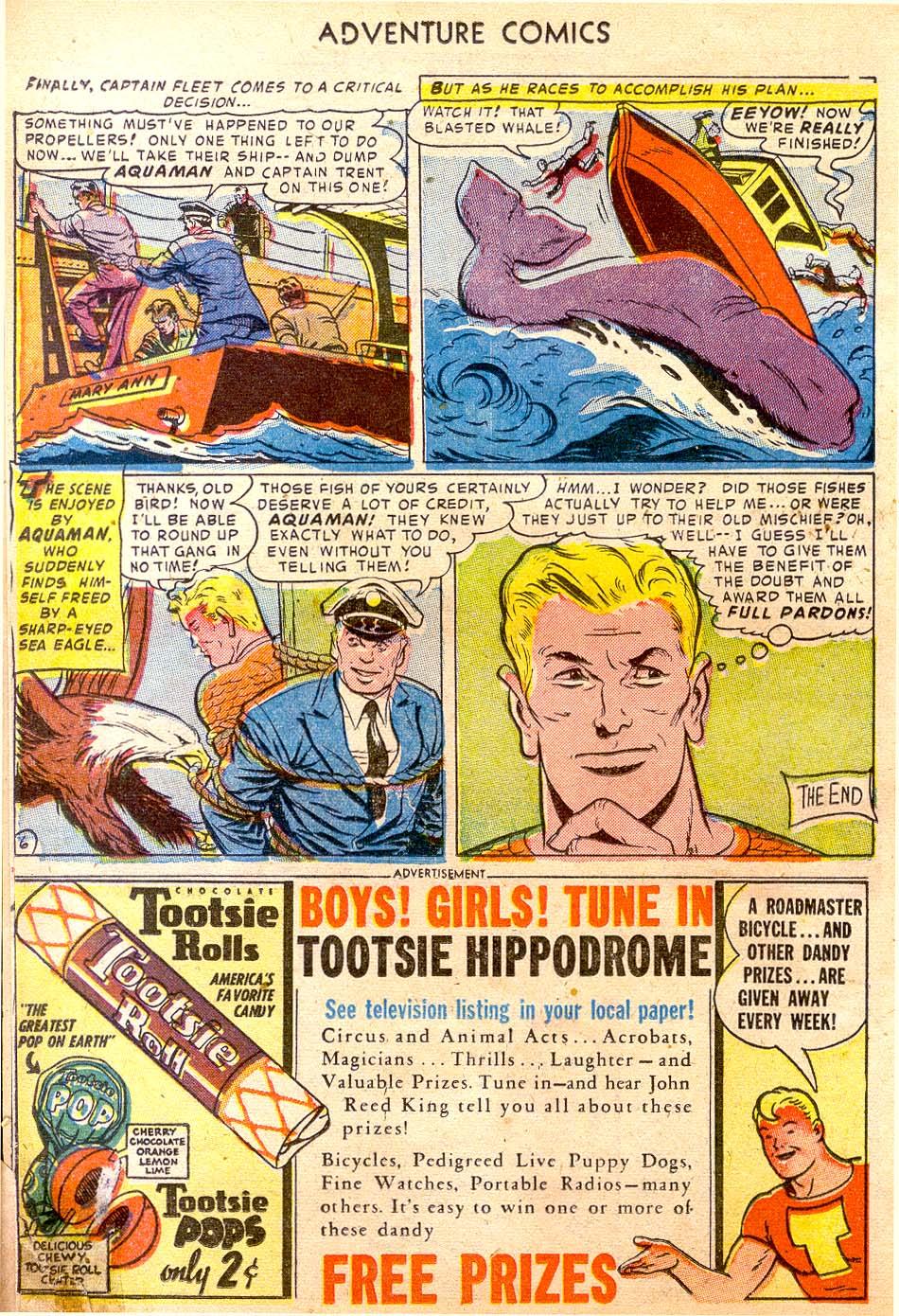 Read online Adventure Comics (1938) comic -  Issue #183 - 22