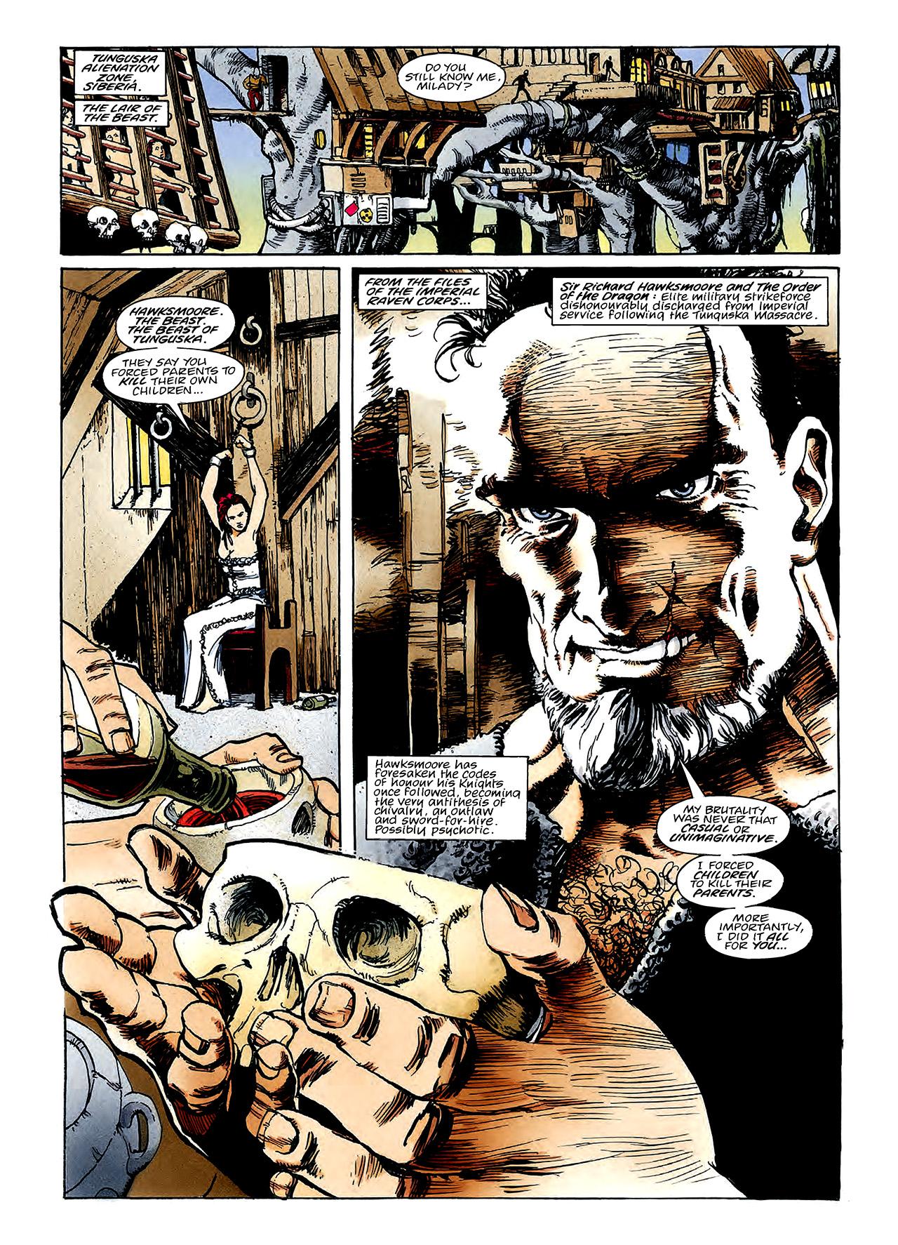 Read online Nikolai Dante comic -  Issue # TPB 3 - 83