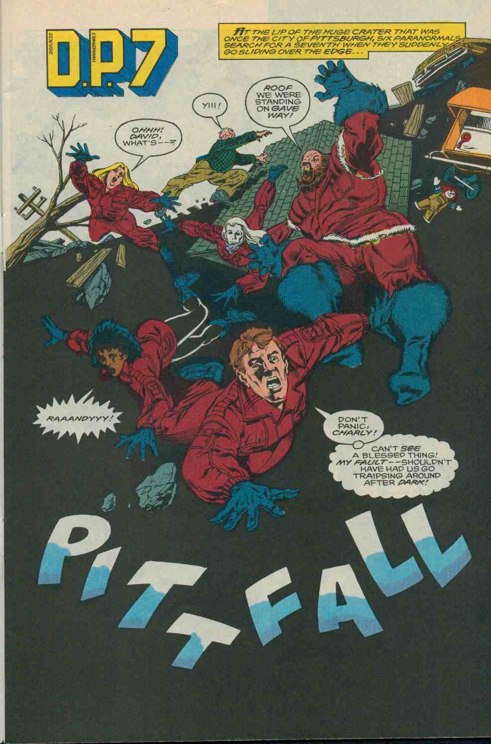 Read online DP7 comic -  Issue #19 - 2