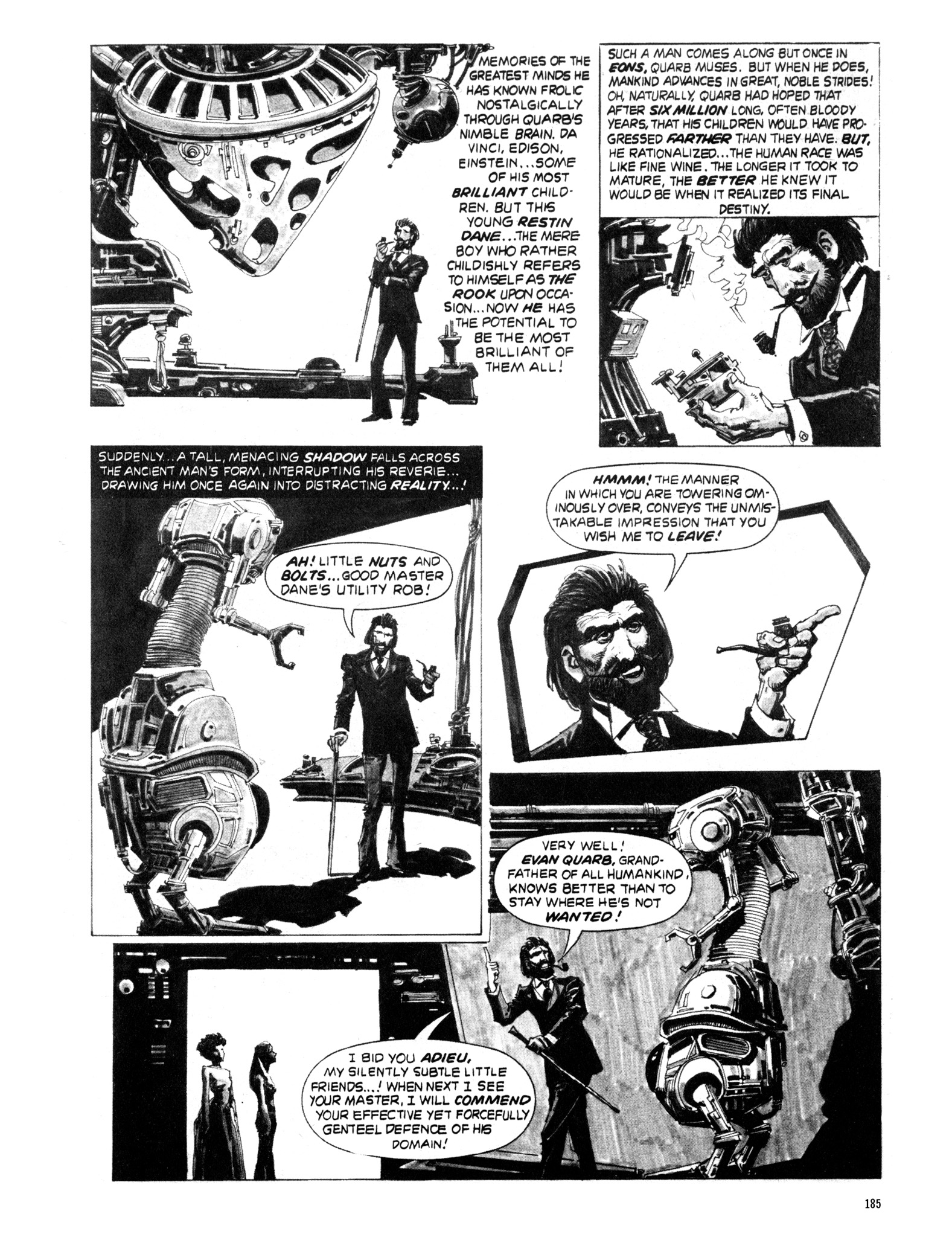 Read online Eerie Archives comic -  Issue # TPB 20 - 185