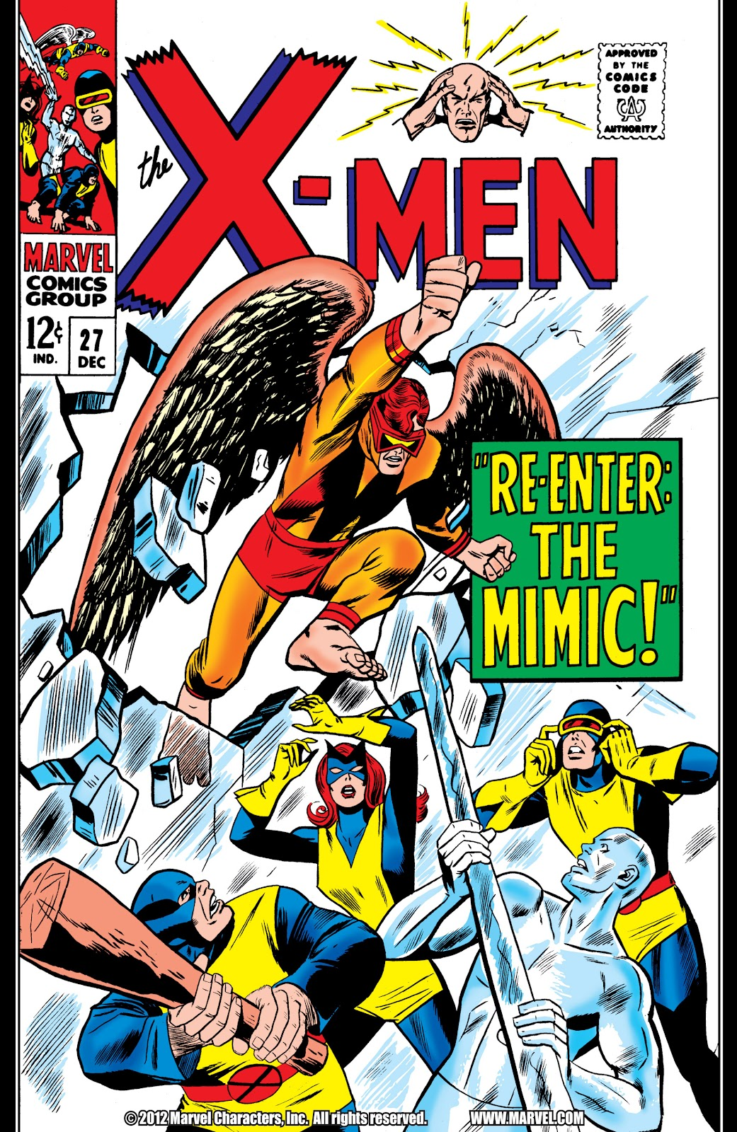 Uncanny X-Men (1963) issue 27 - Page 1