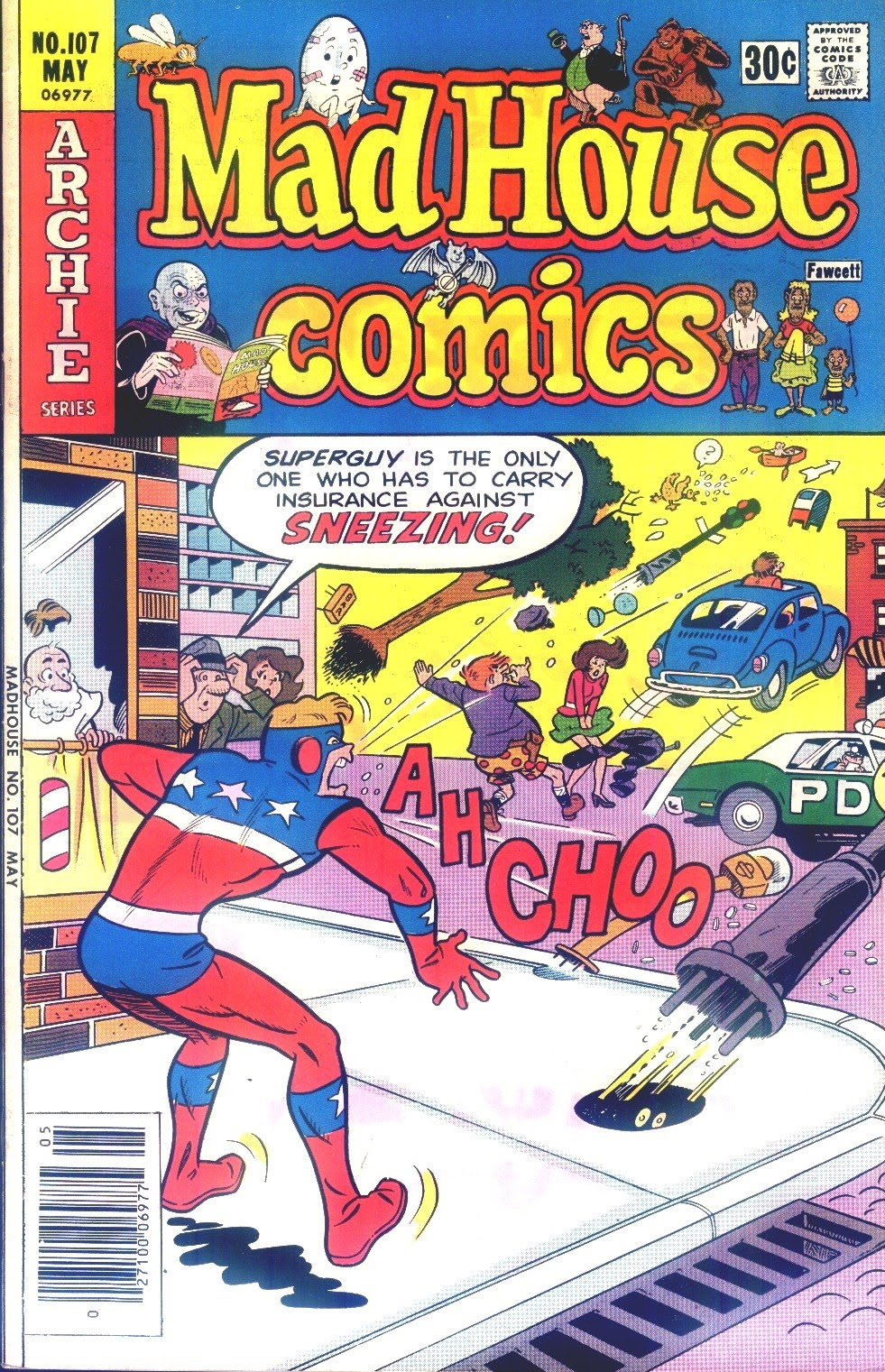Madhouse Comics 107 Page 1