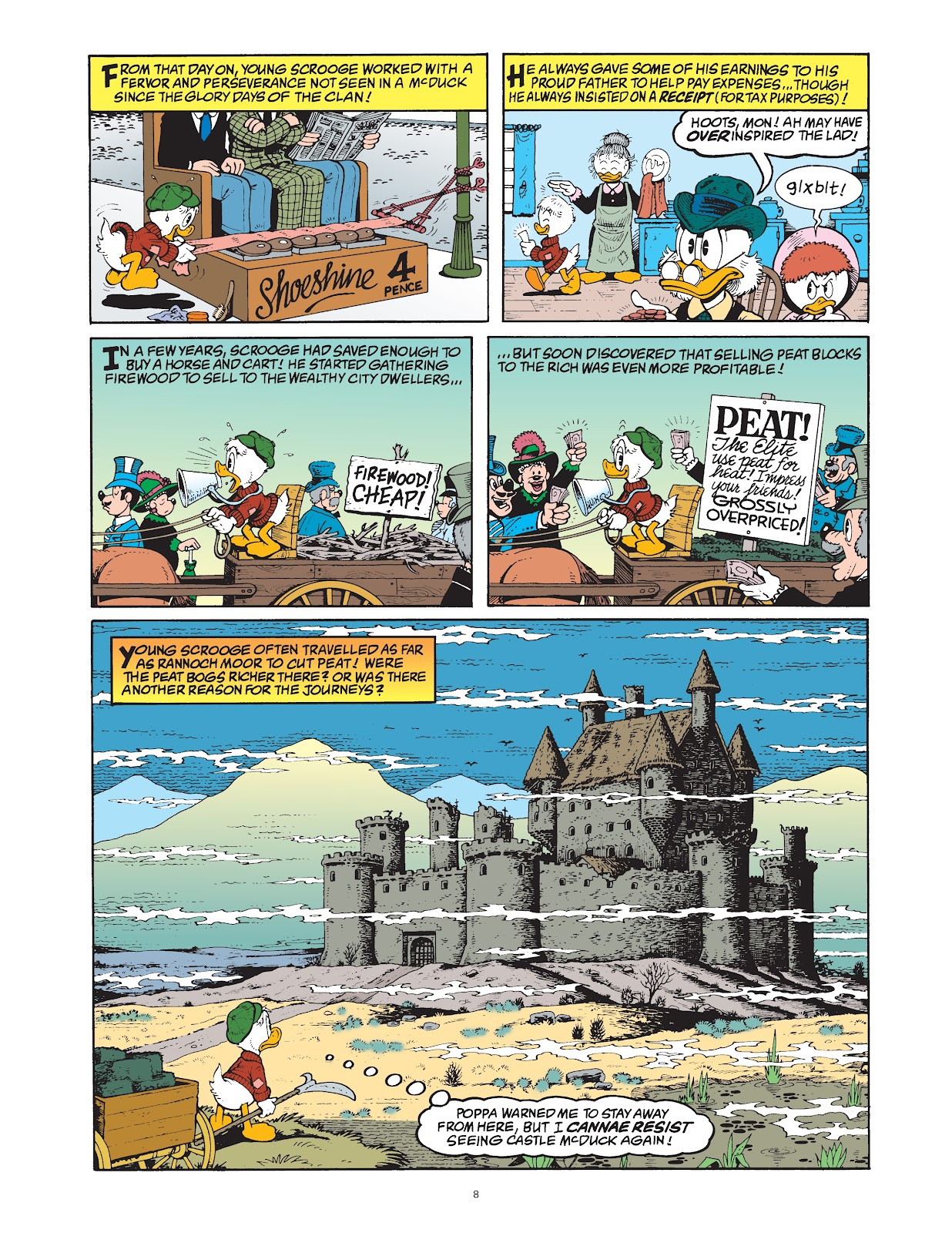 Read online The Complete Life and Times of Scrooge McDuck comic -  Issue # TPB 1 (Part 1) - 16