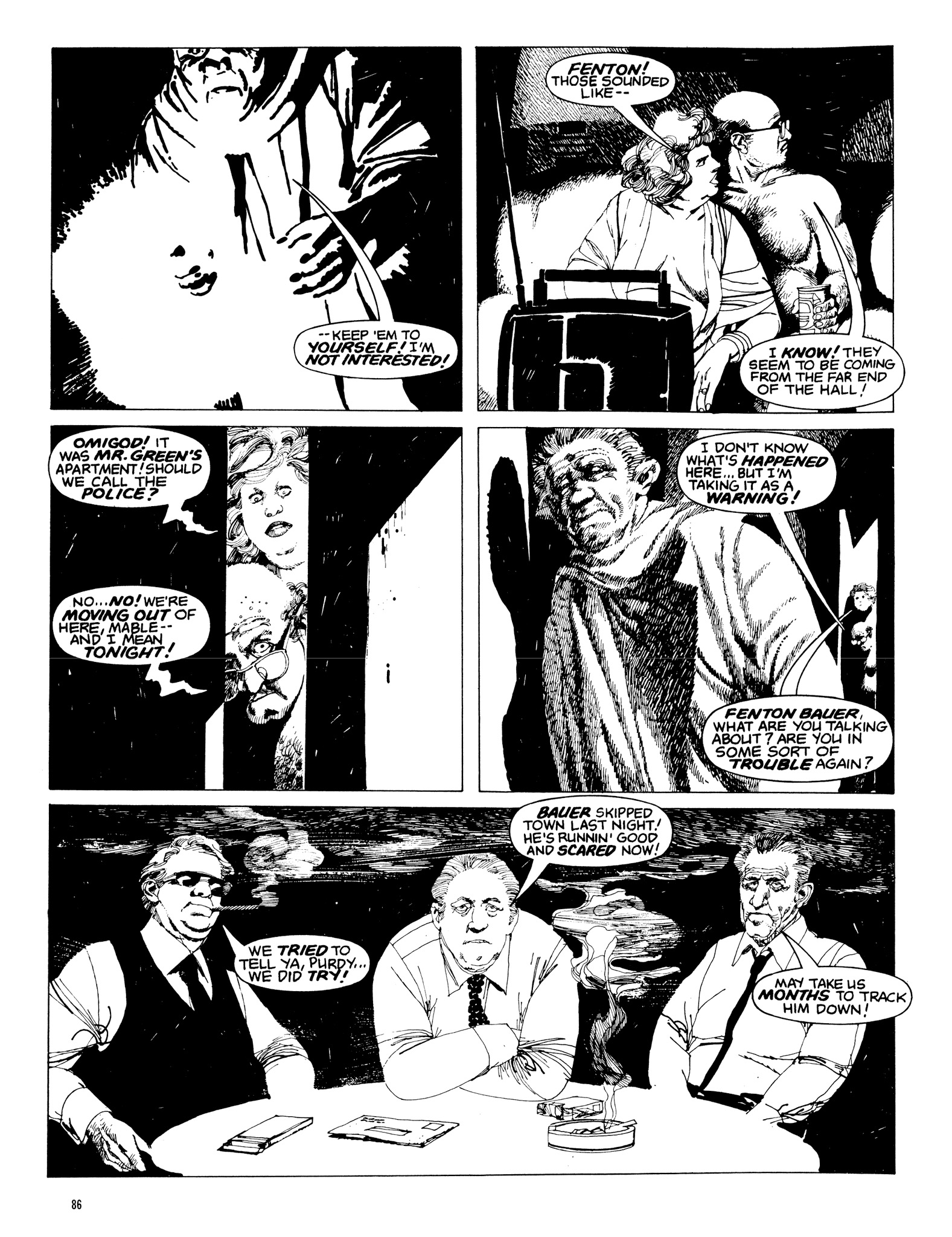 Read online Eerie Archives comic -  Issue # TPB 20 - 86