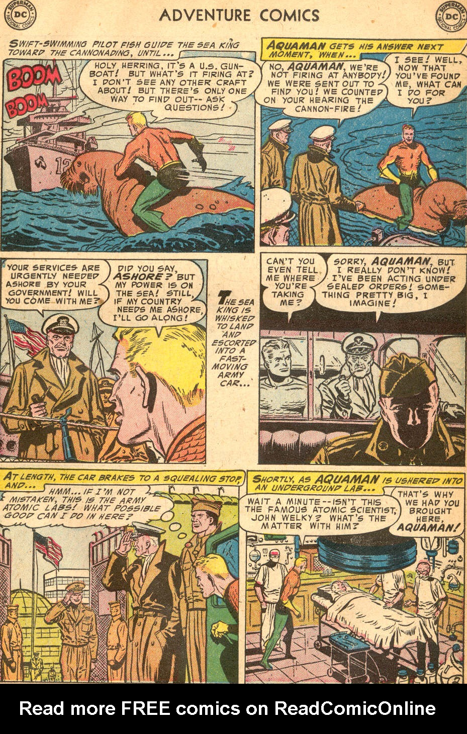 Read online Adventure Comics (1938) comic -  Issue #200 - 17
