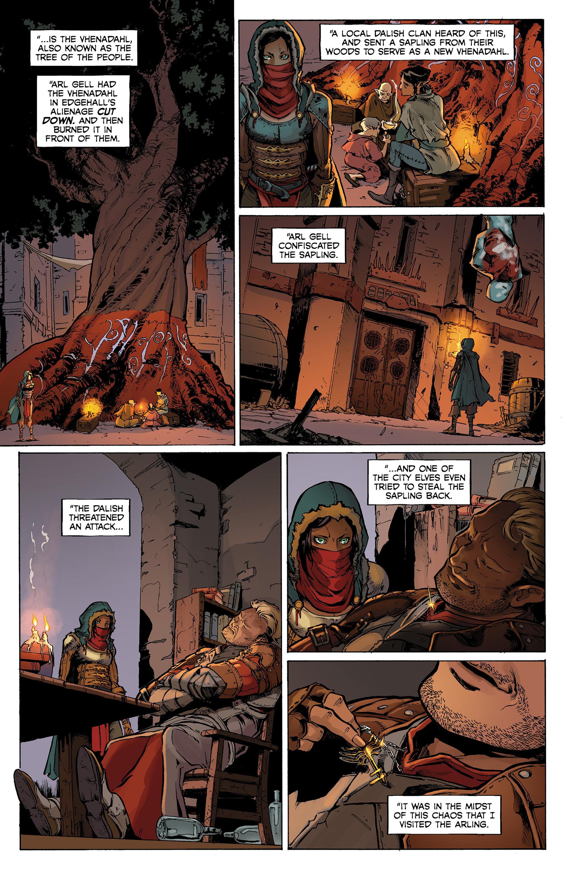 Read online Dragon Age: Knight Errant comic -  Issue #1 - 20