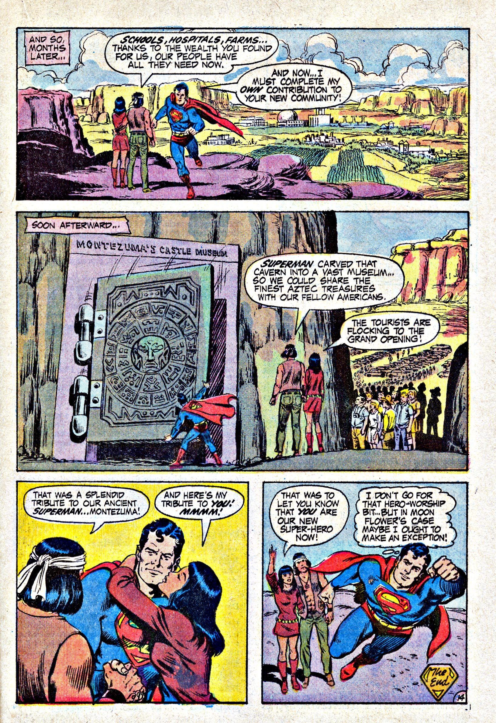 Read online Action Comics (1938) comic -  Issue #402 - 21