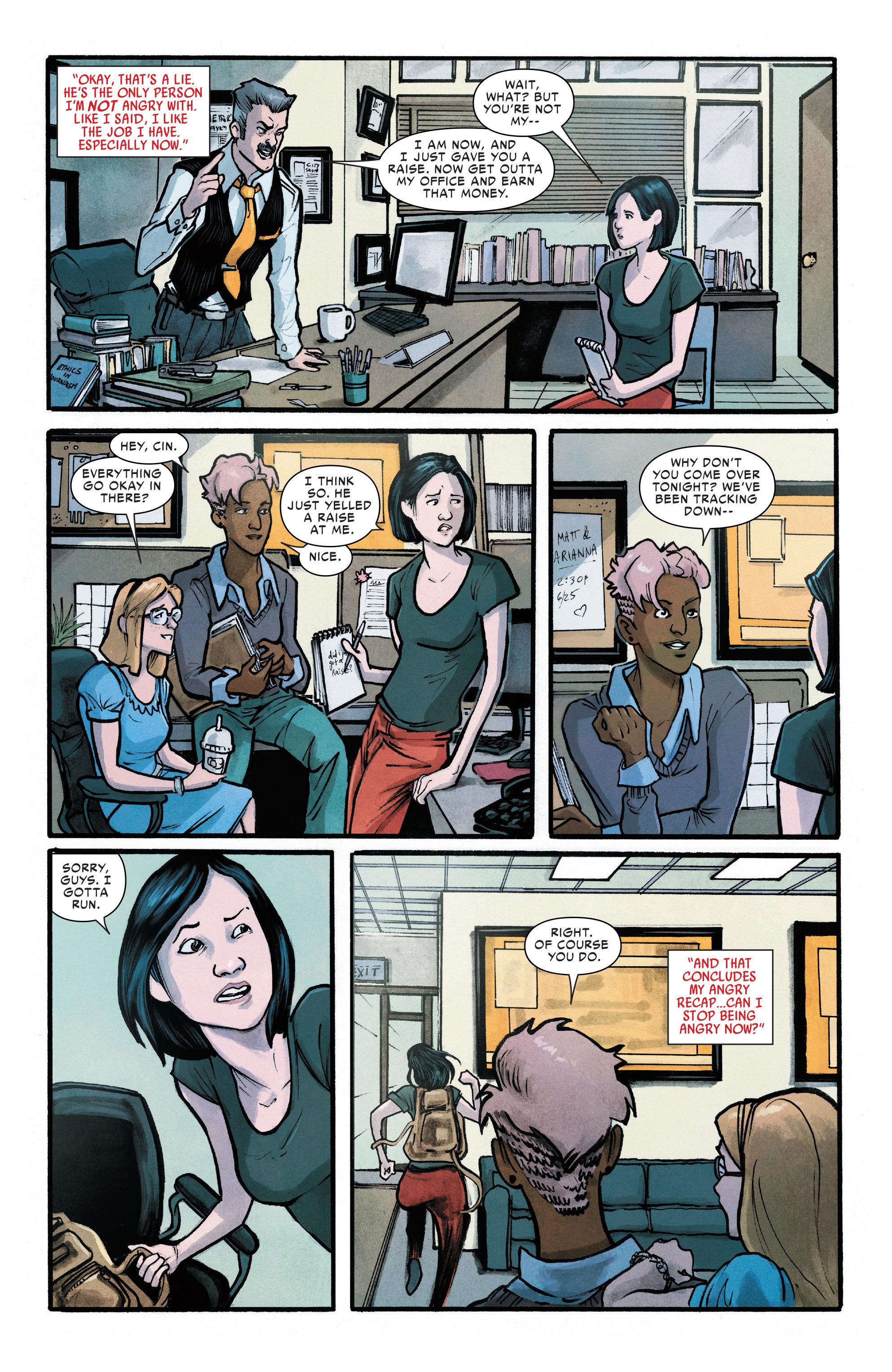 Read online Silk (2016) comic -  Issue #11 - 13