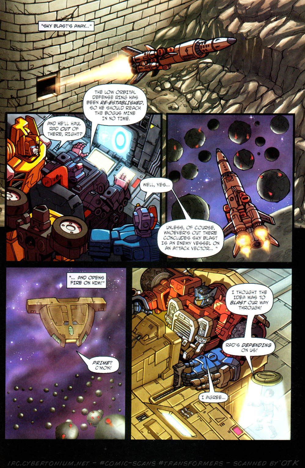Read online Transformers Armada comic -  Issue #11 - 16