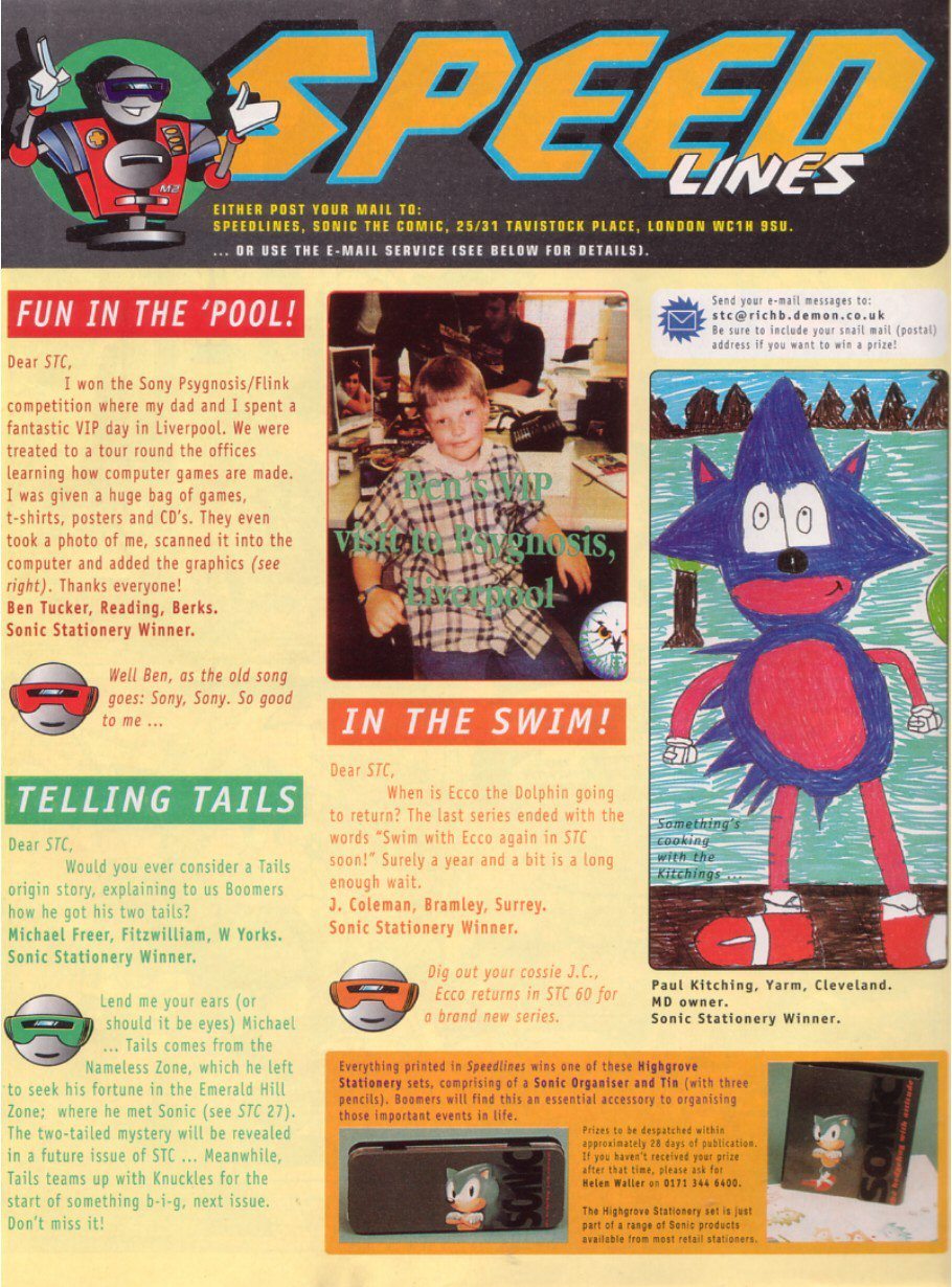 Read online Sonic the Comic comic -  Issue #58 - 30