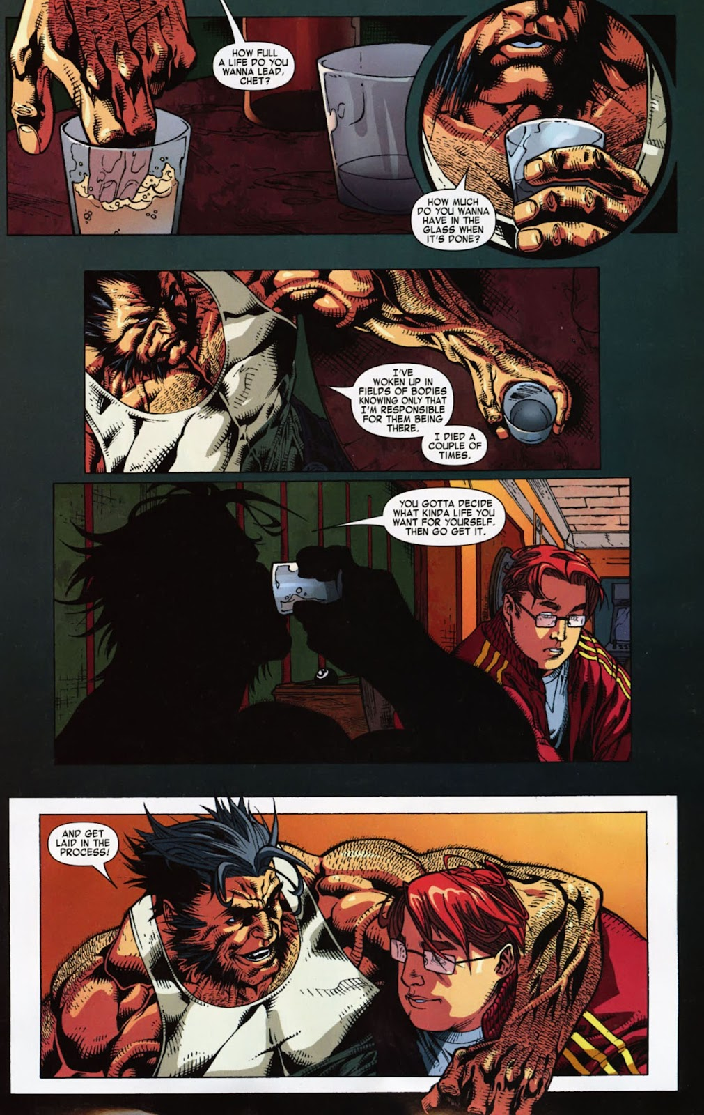Read online Wolverine (2003) comic -  Issue #900 - 50
