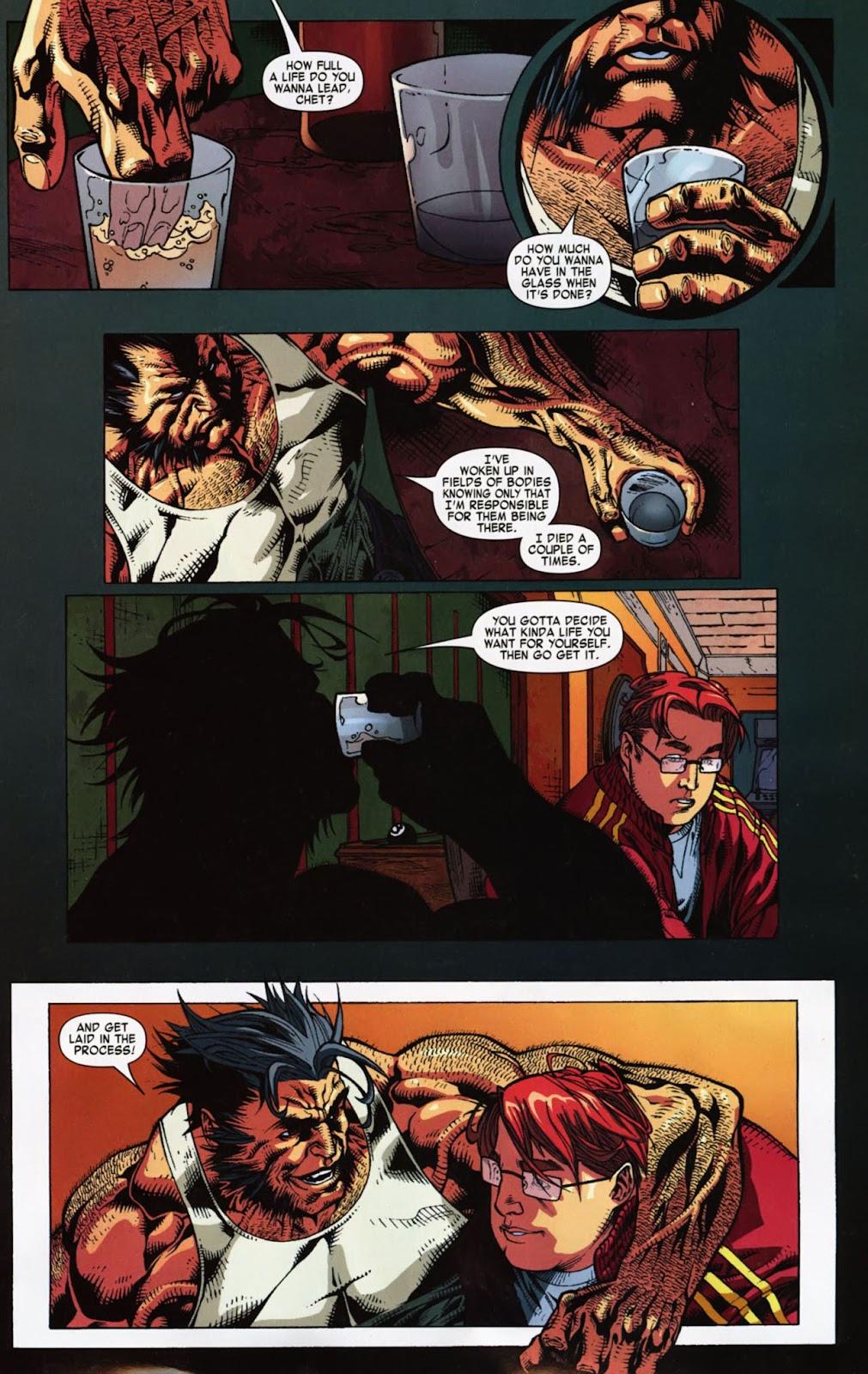 Read online Wolverine (2003) comic -  Issue #900 - 50