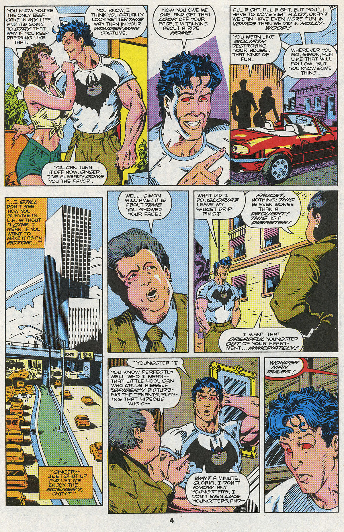 Read online Wonder Man (1991) comic -  Issue #3 - 5