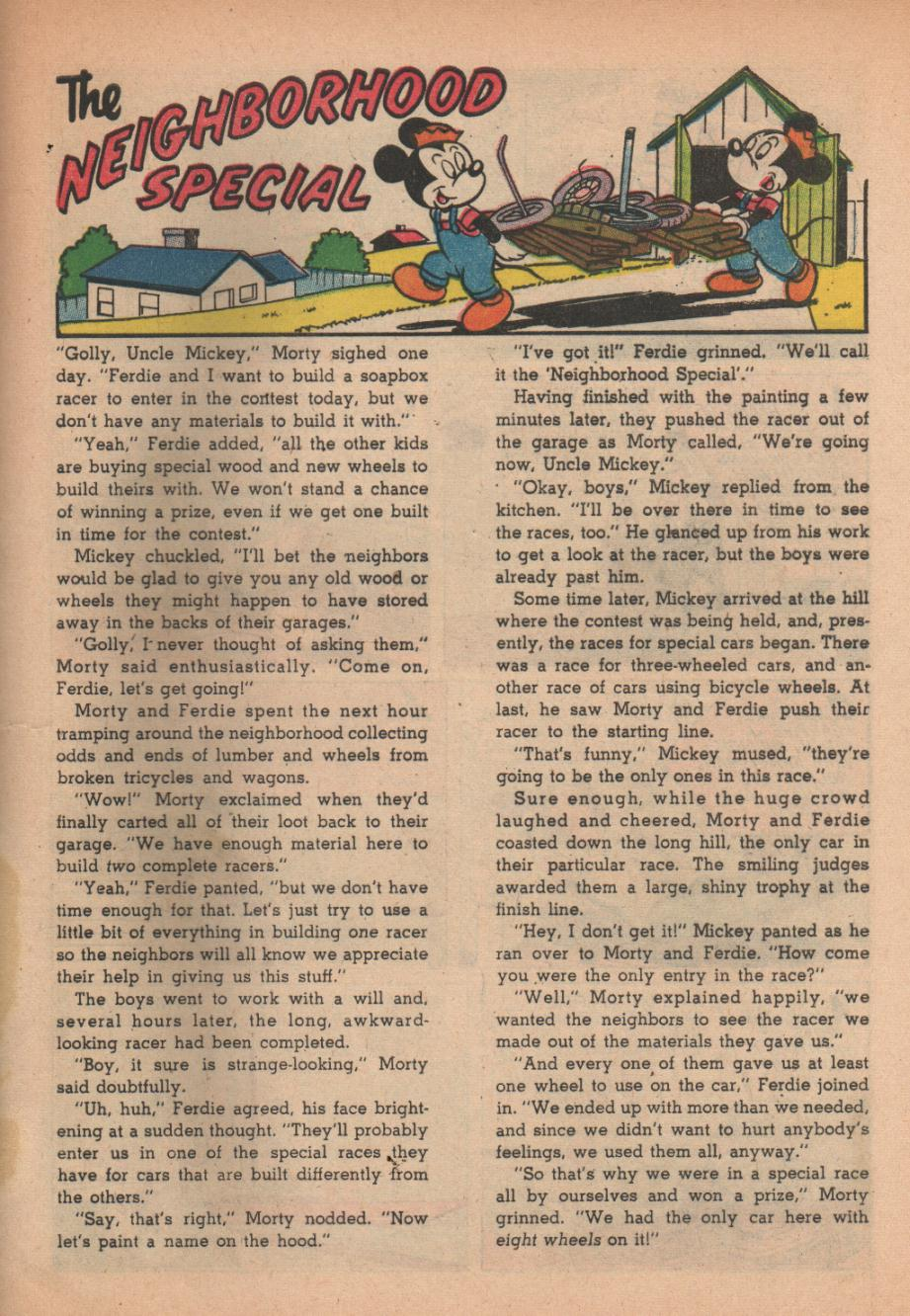 Read online Uncle Scrooge (1953) comic -  Issue #27 - 29