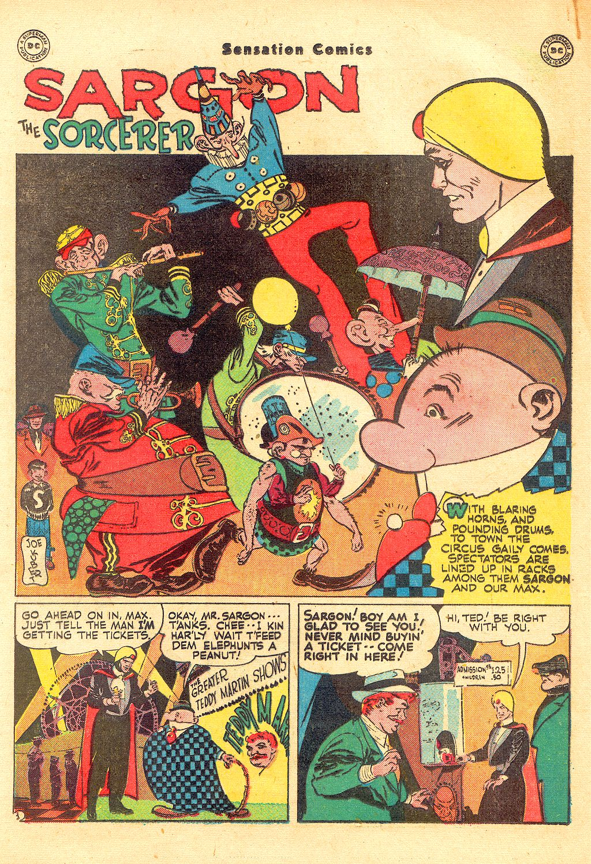Read online Sensation (Mystery) Comics comic -  Issue #57 - 25