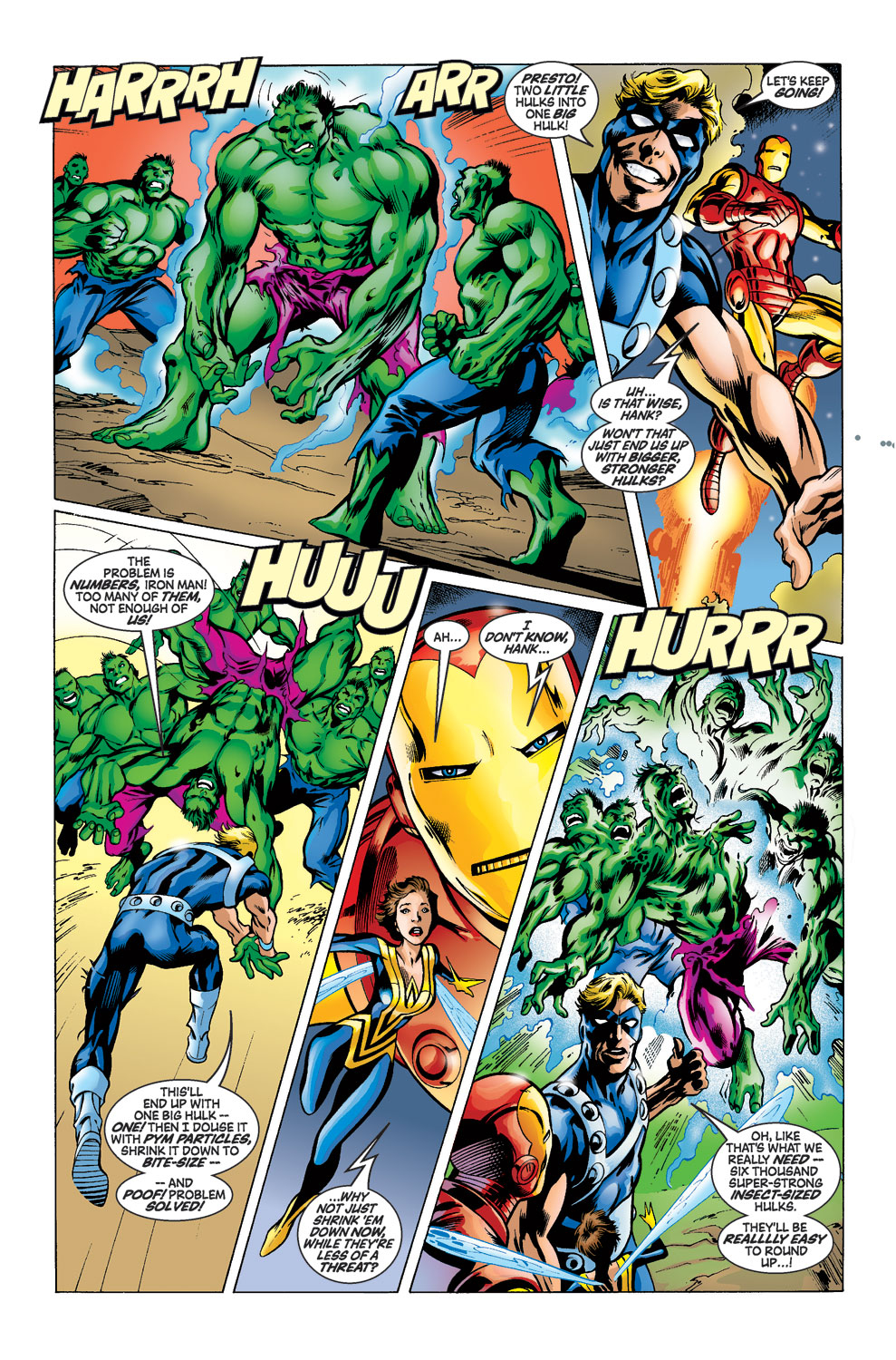Read online Avengers (1998) comic -  Issue #39 - 11
