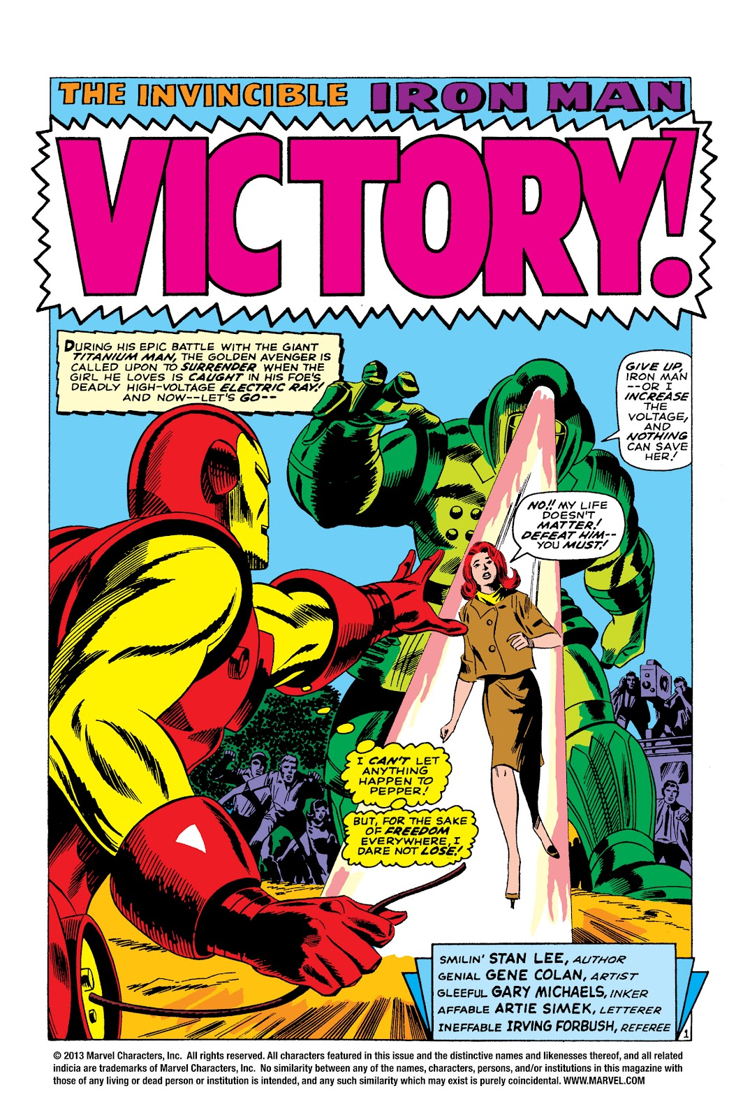 Read online Marvel Masterworks: The Invincible Iron Man comic -  Issue # TPB 3 (Part 4) - 95