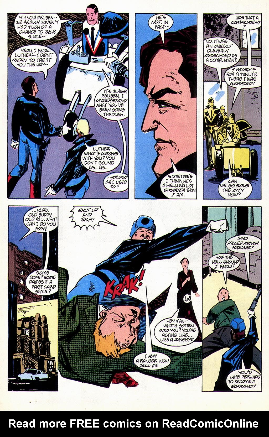 Read online American Flagg! comic -  Issue #45 - 9