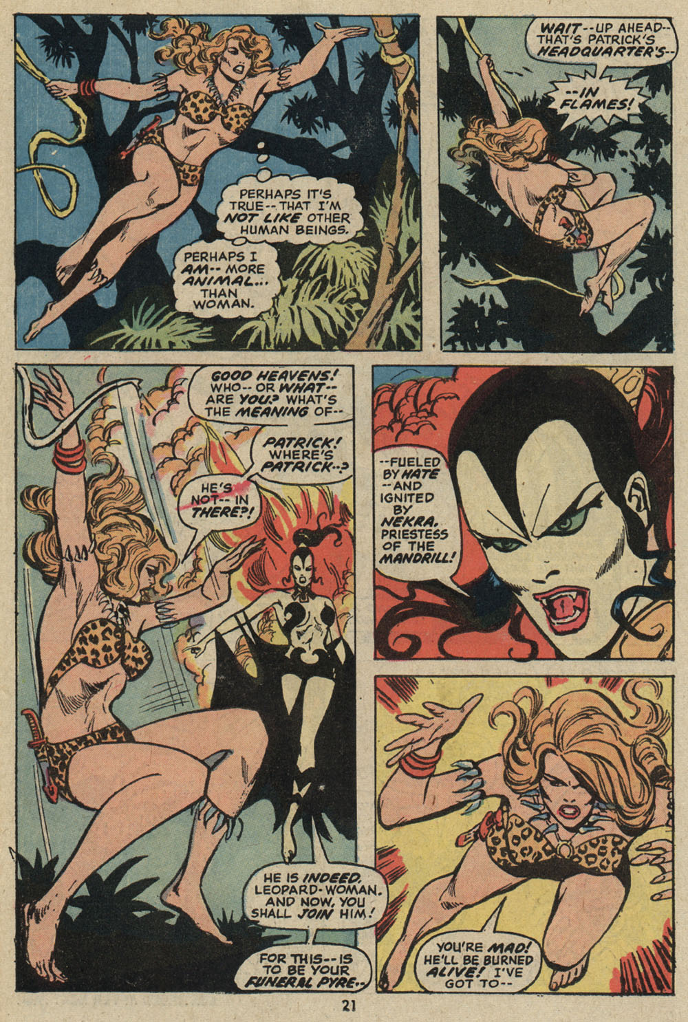 Read online Shanna, the She-Devil (1972) comic -  Issue #5 - 16