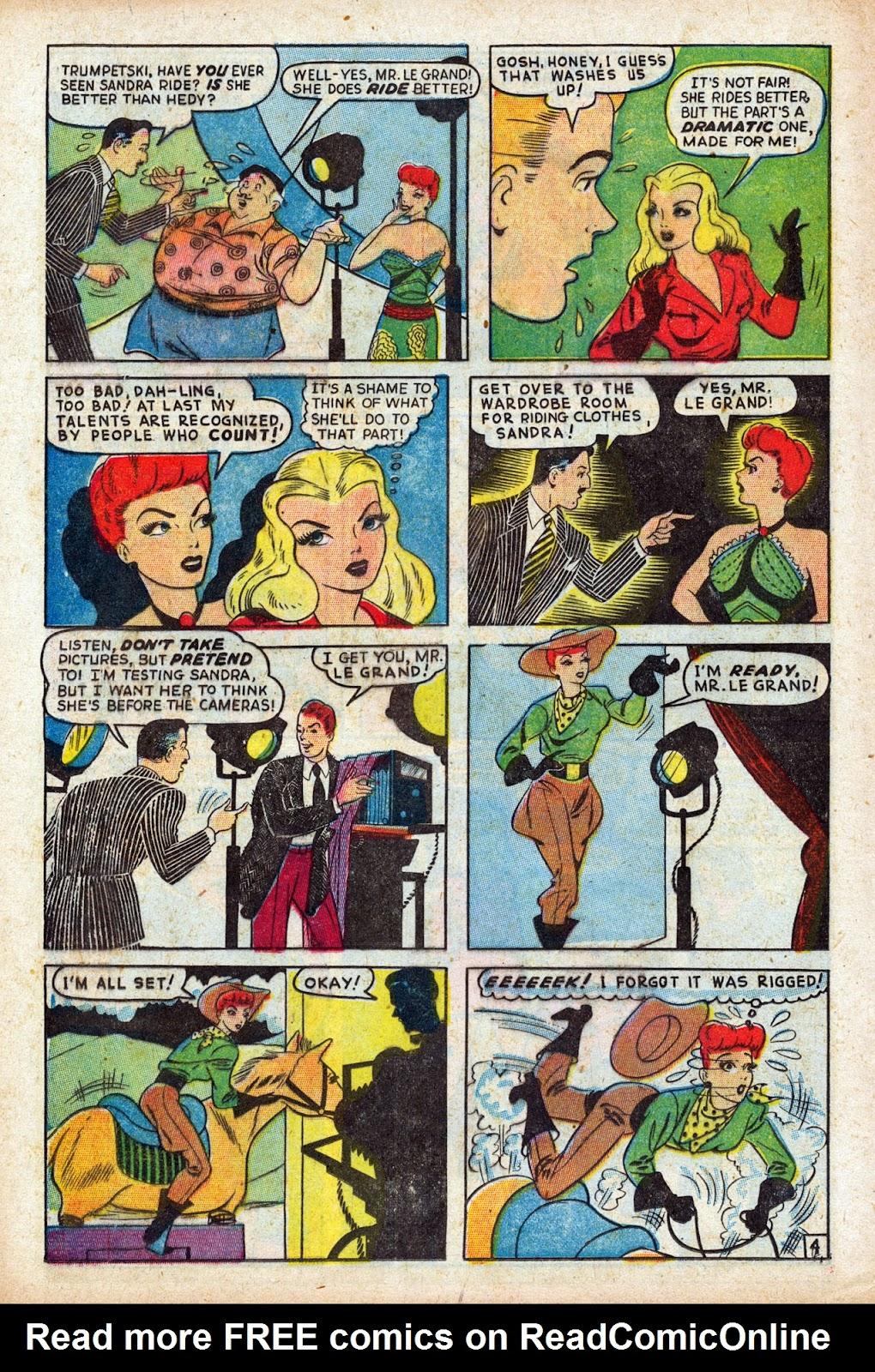 Read online Comedy Comics (1948) comic -  Issue #3 - 26
