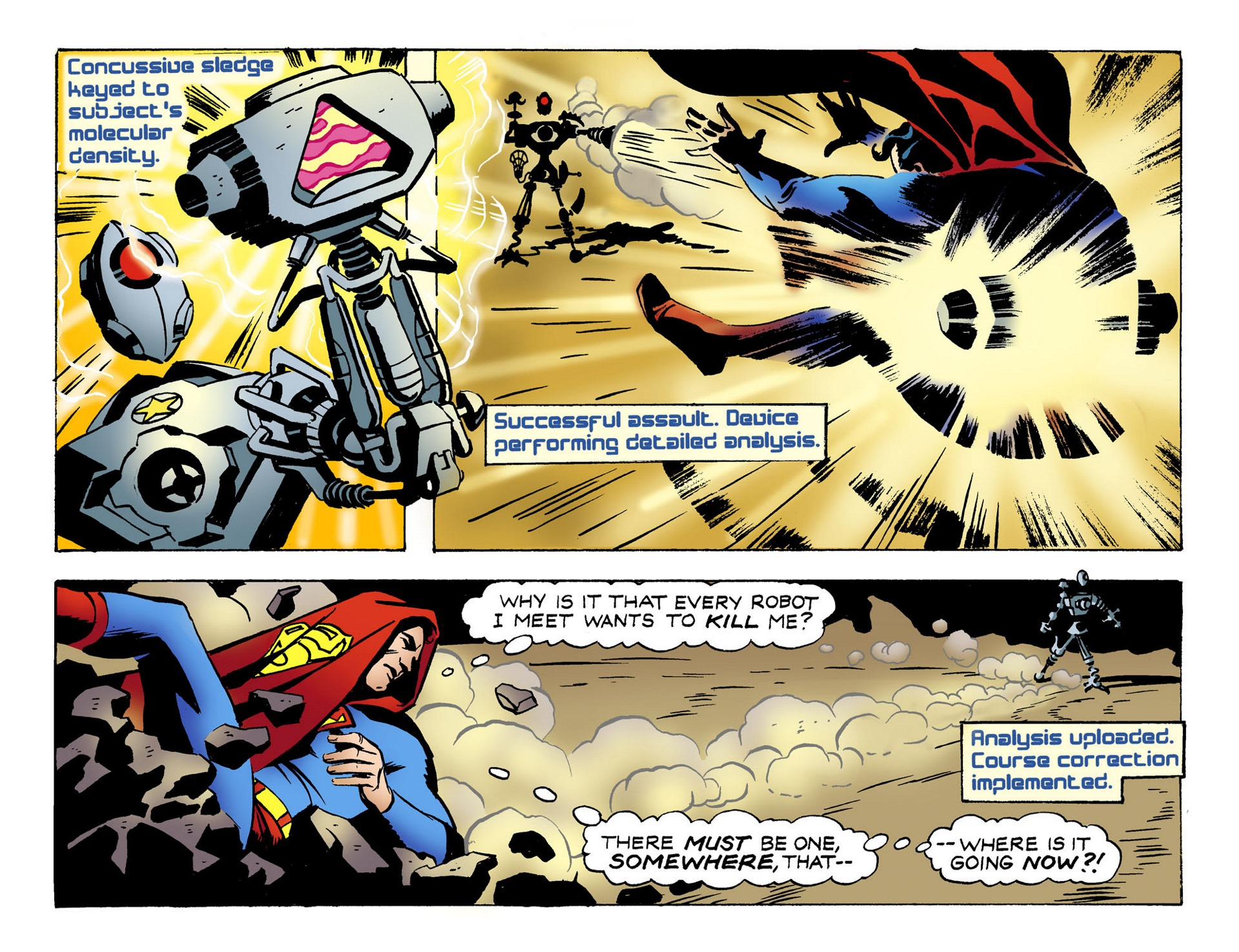 Read online Adventures of Superman [I] comic -  Issue #51 - 9