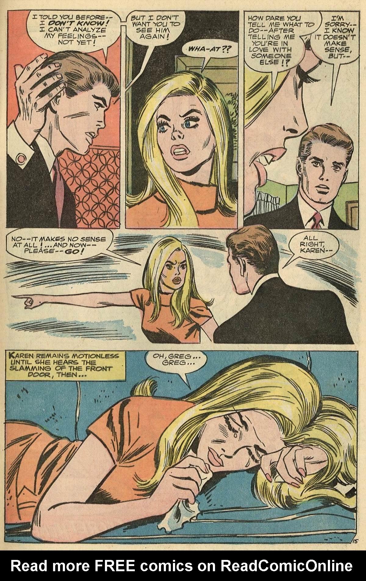 Read online Secret Hearts comic -  Issue #125 - 33
