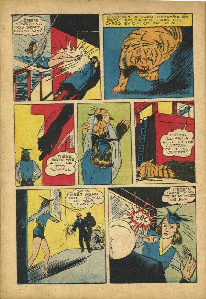 Read online Amazing Man Comics comic -  Issue #25 - 58