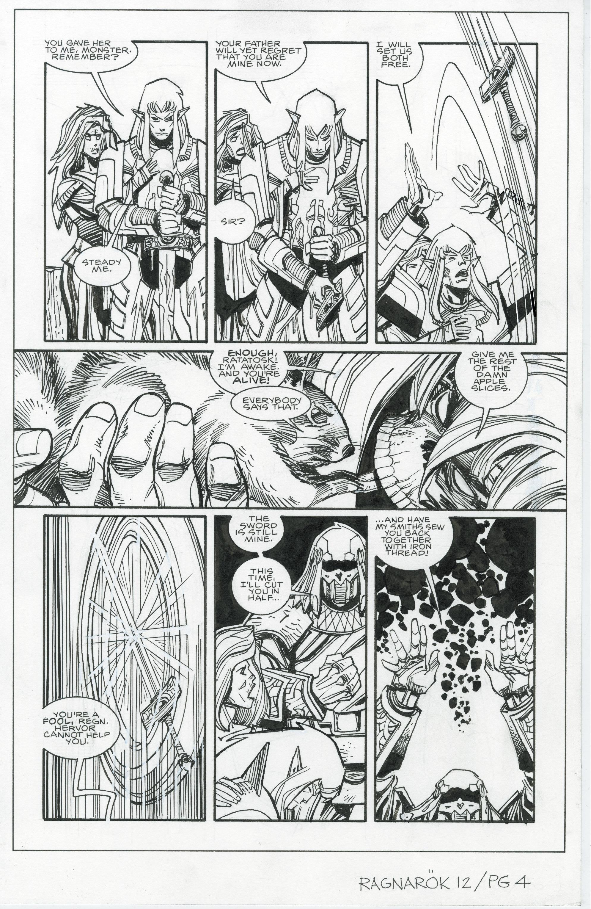 Read online Ragnarok comic -  Issue #12 - 27
