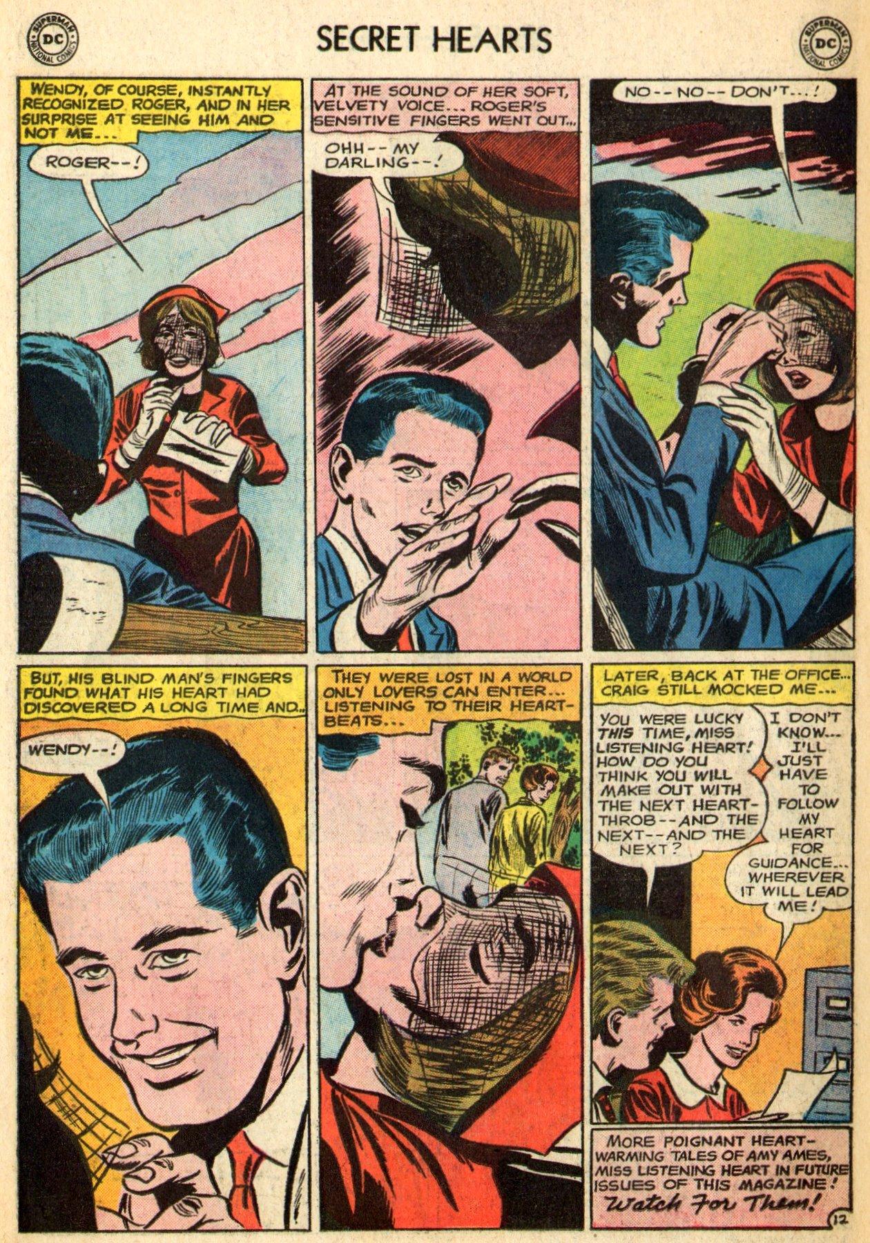 Read online Secret Hearts comic -  Issue #96 - 34
