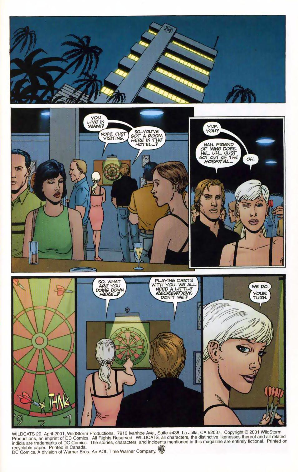 Wildcats (1999) Issue #20 #21 - English 3