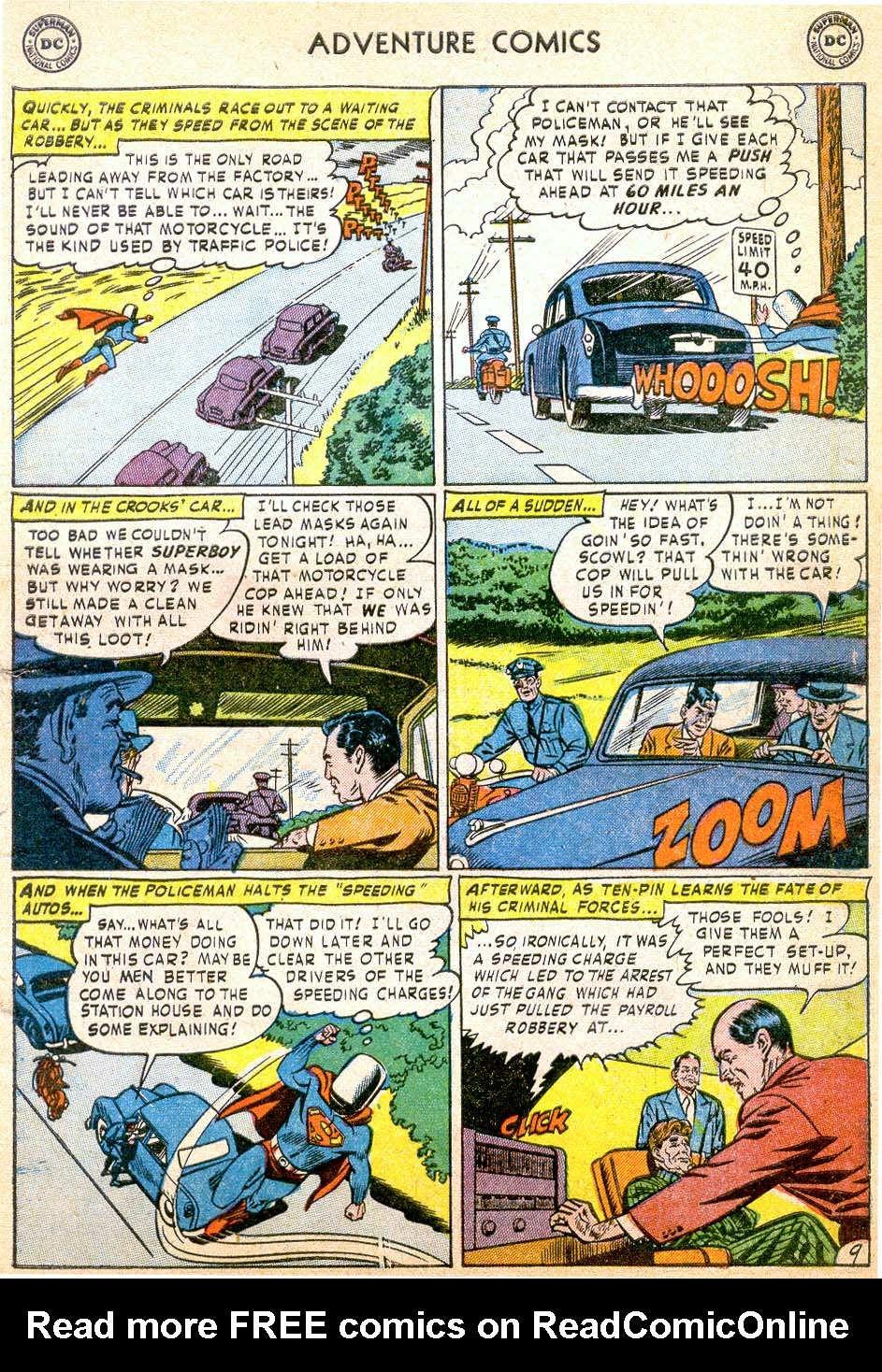Read online Adventure Comics (1938) comic -  Issue #178 - 11