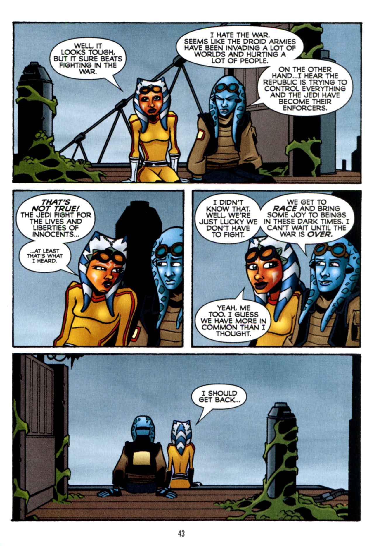 Read online Star Wars: The Clone Wars - Crash Course comic -  Issue # Full - 44