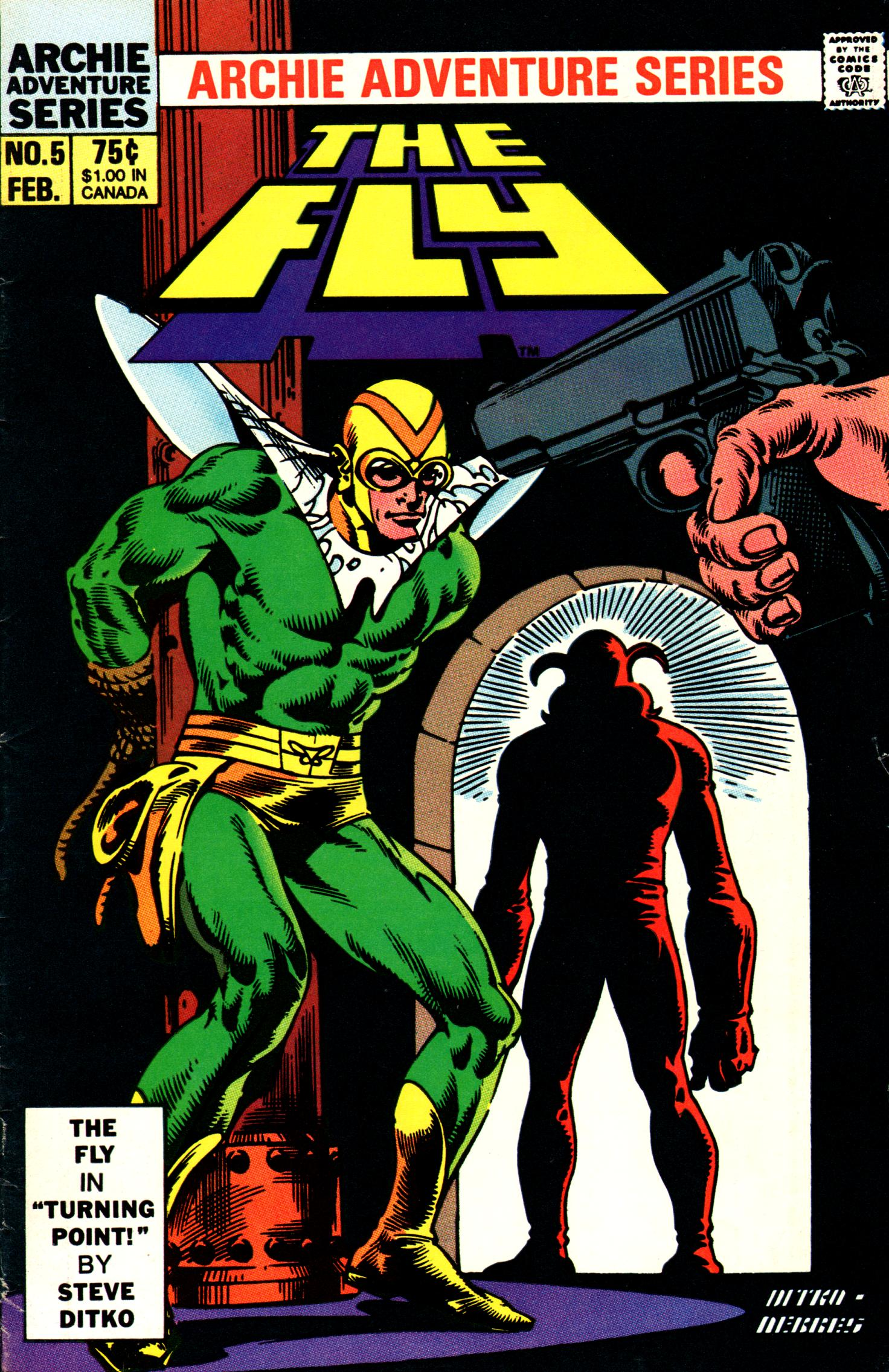 Read online The Fly (1983) comic -  Issue #5 - 1