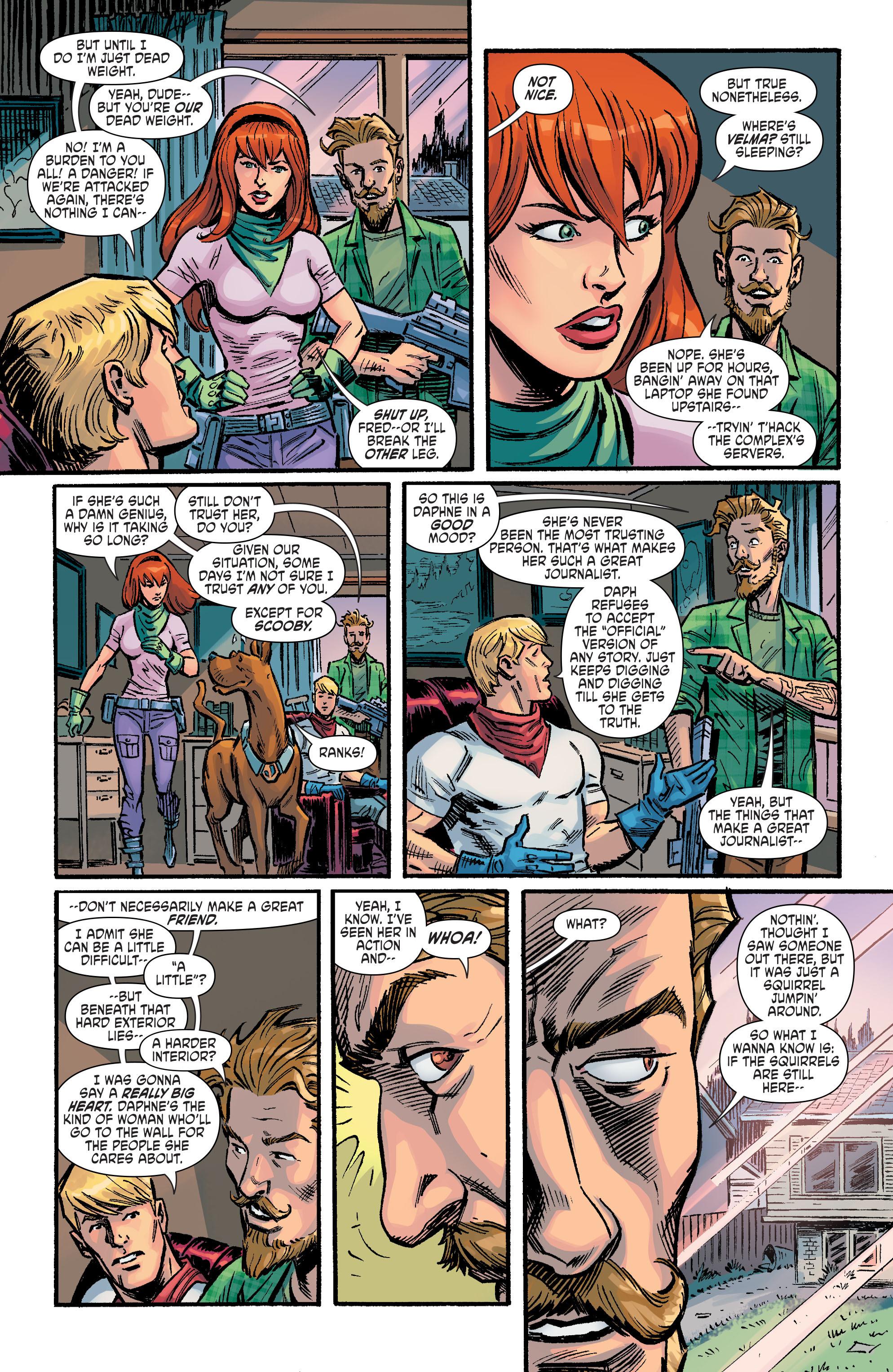 Read online Scooby Apocalypse comic -  Issue #9 - 6