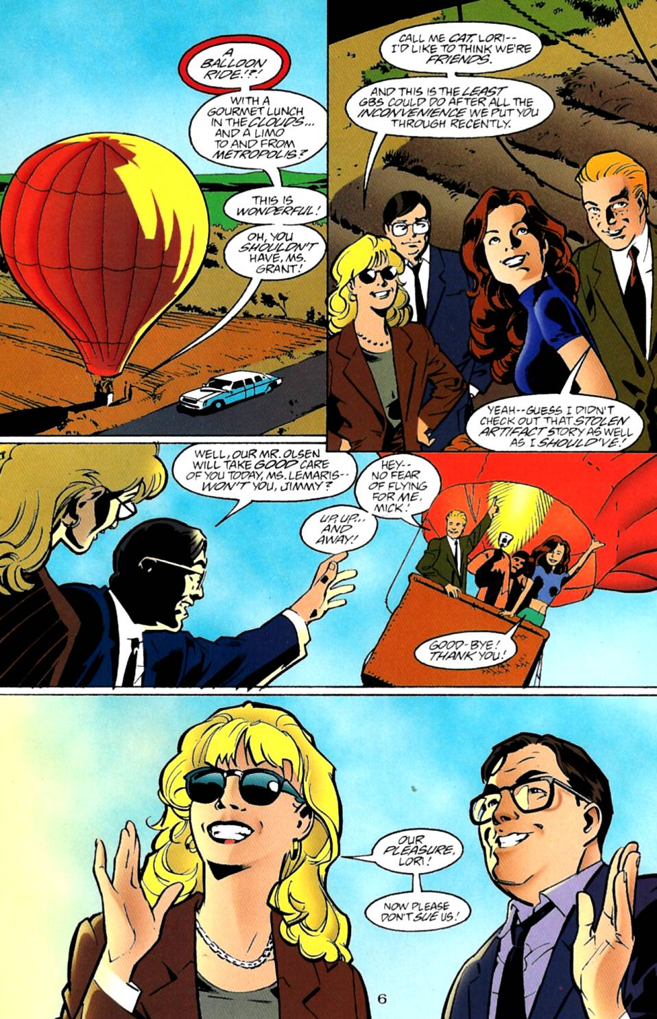 Read online Adventures of Superman (1987) comic -  Issue #543 - 7