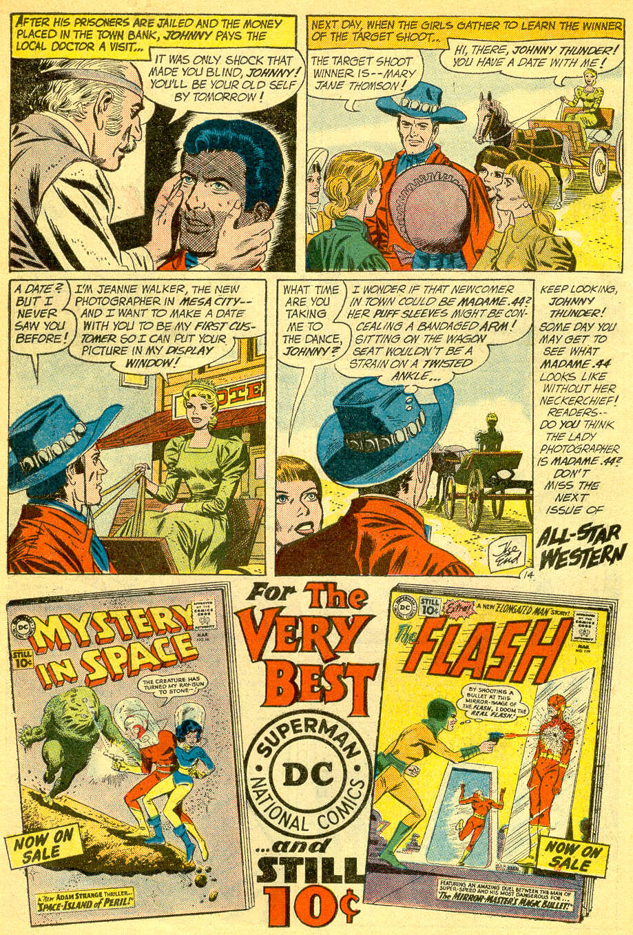 Read online All-Star Western (1951) comic -  Issue #118 - 18
