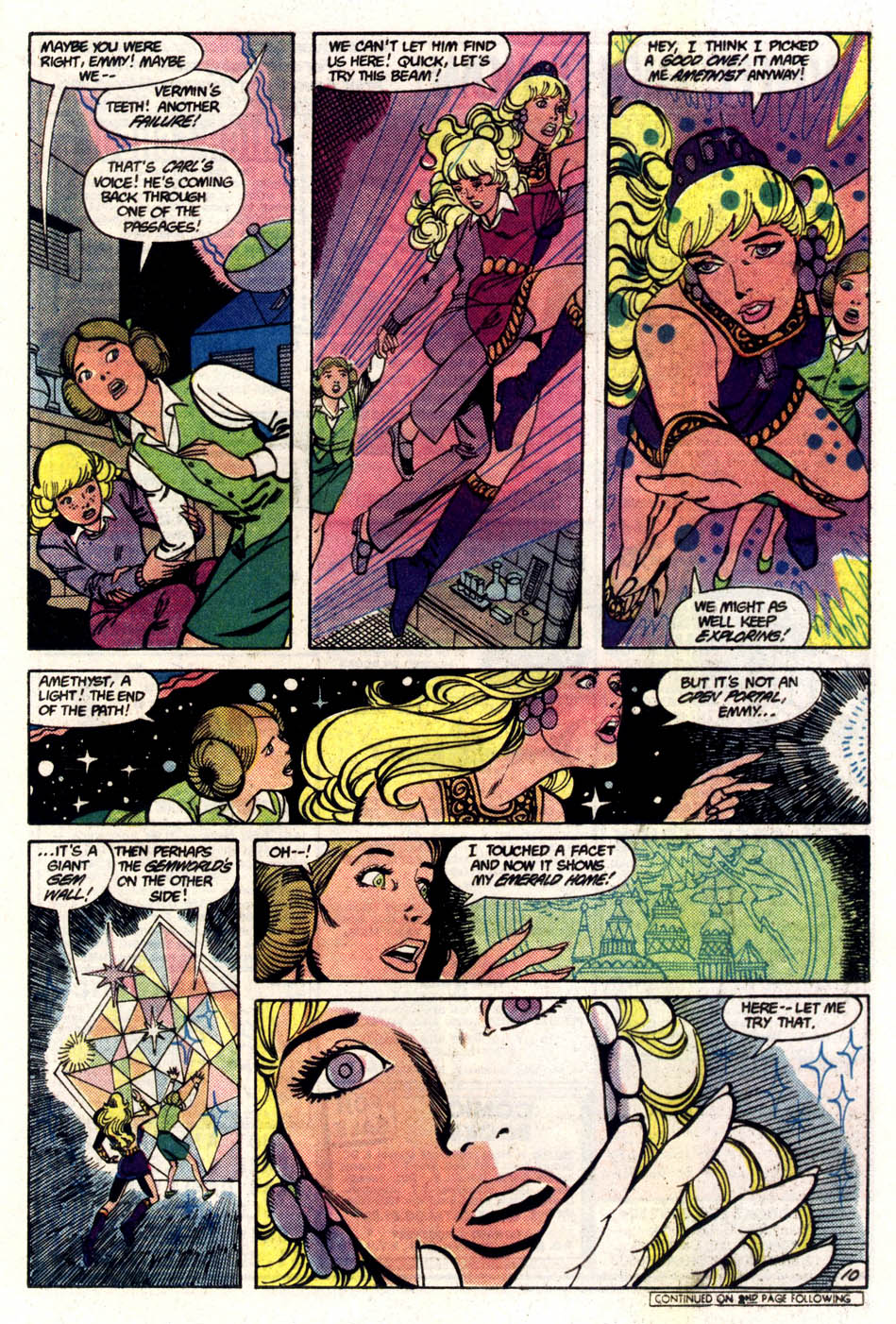 Read online Amethyst (1985) comic -  Issue #5 - 11