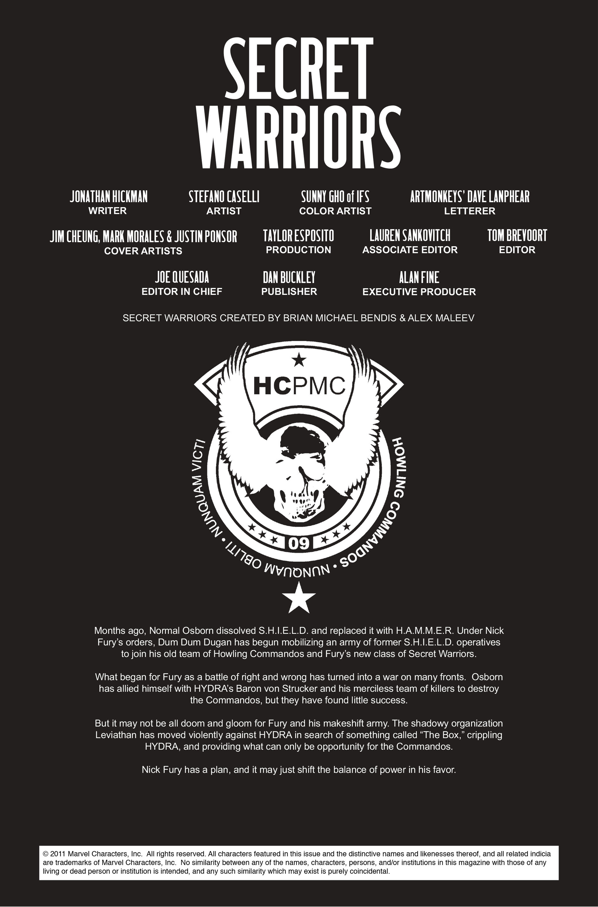 Read online Secret Warriors comic -  Issue #12 - 3