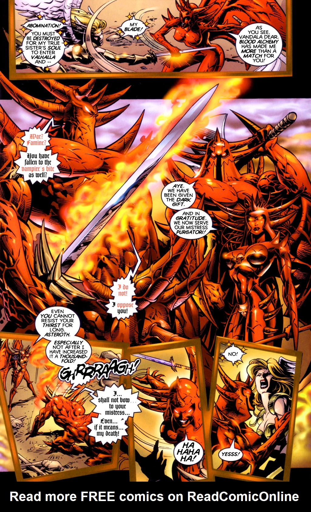 Read online Lady Death vs. Purgatori comic -  Issue # Full - 15