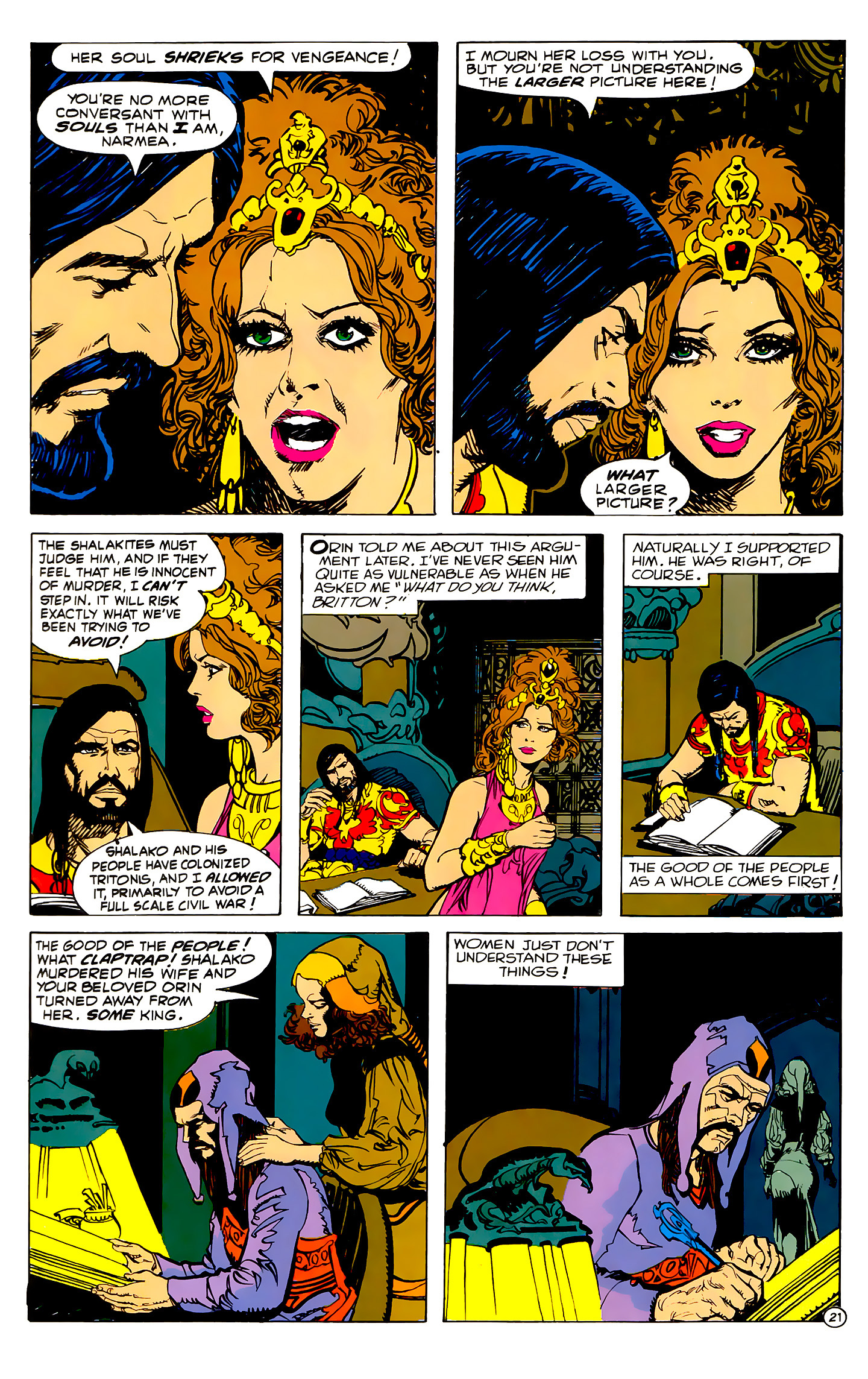 Read online Atlantis Chronicles comic -  Issue #2 - 21