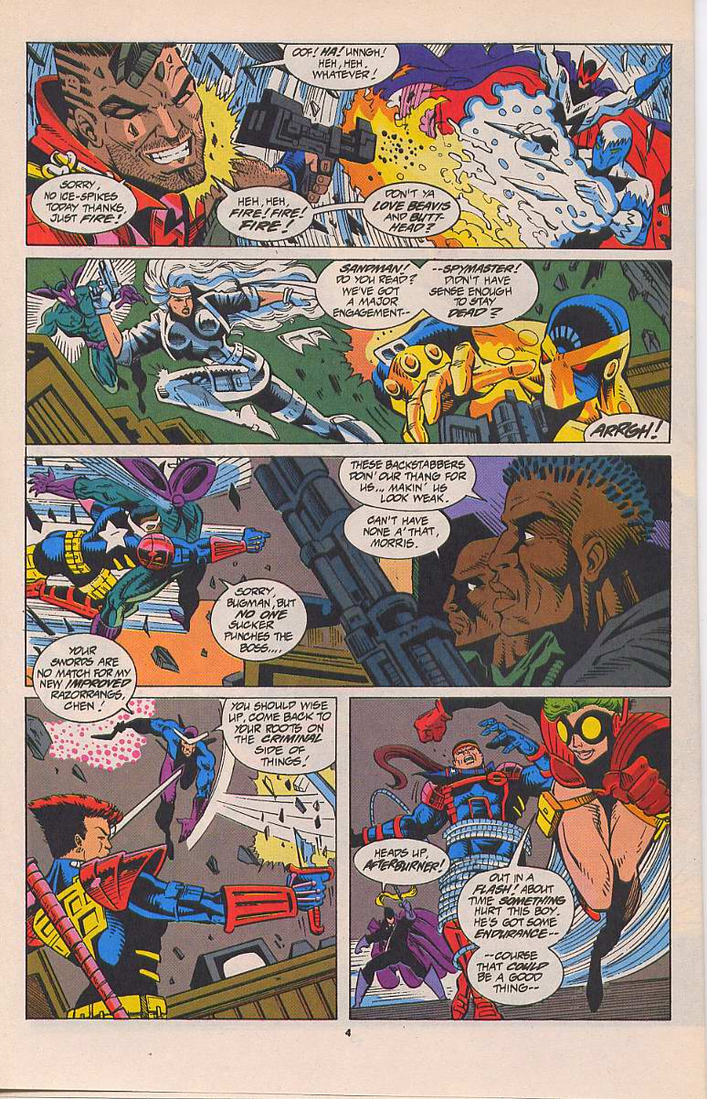 Read online Silver Sable and the Wild Pack comic -  Issue #22 - 5