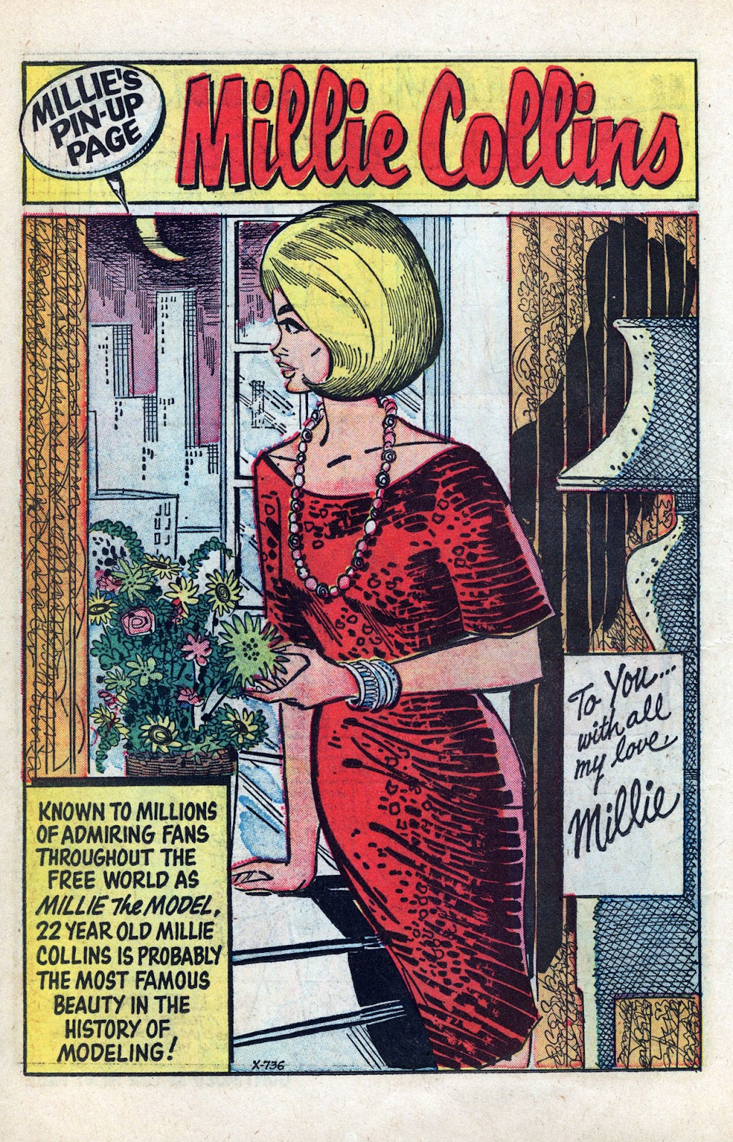 Read online Millie the Model comic -  Issue # Annual 3 - 8