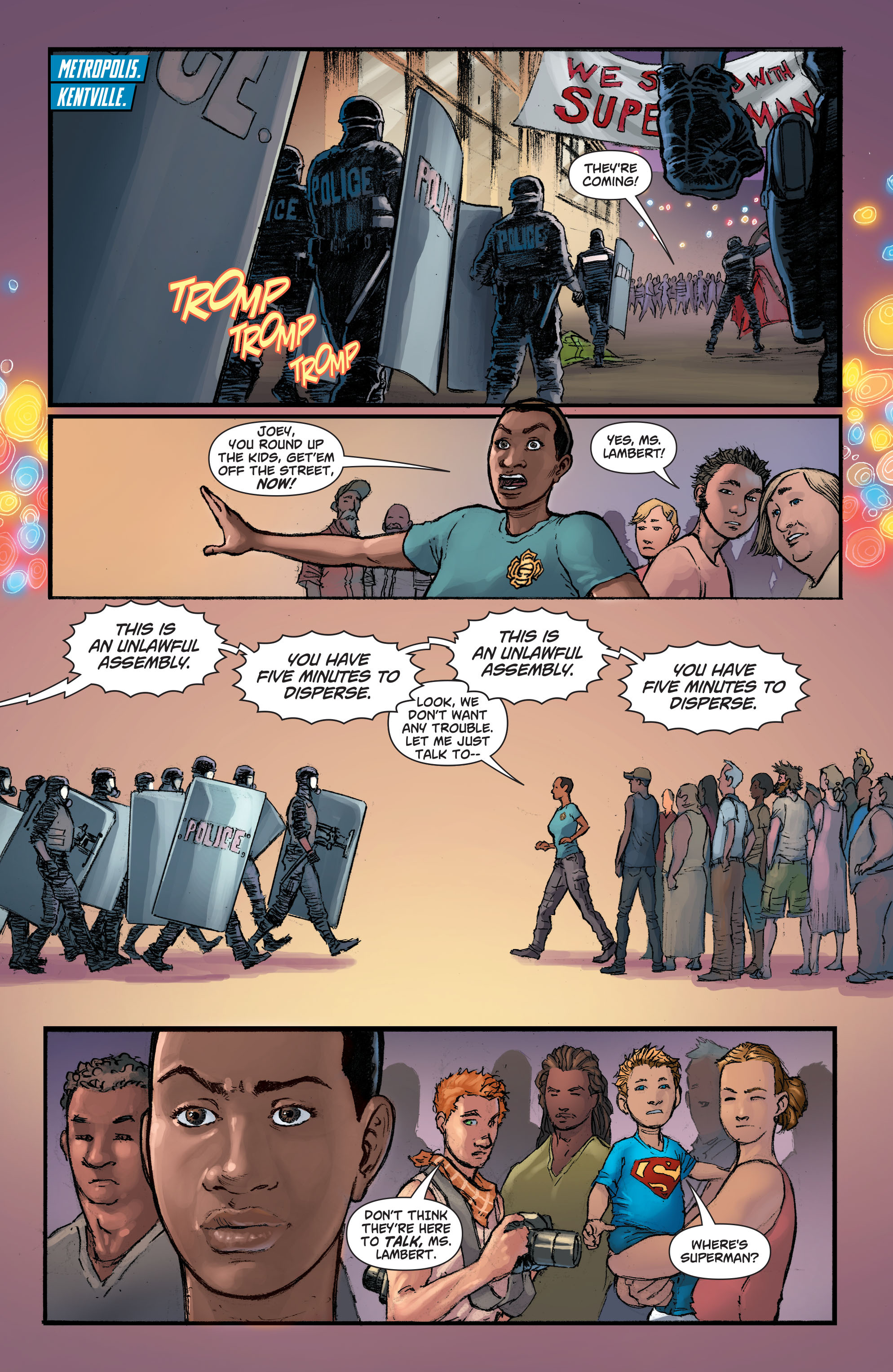 Read online Action Comics (2011) comic -  Issue #42 - 4